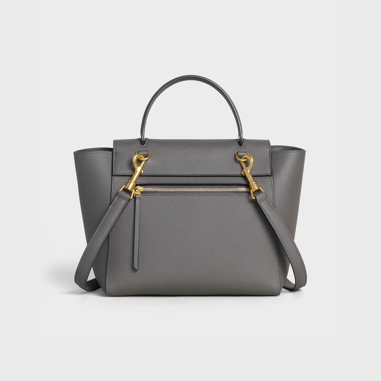 Celine Micro Belt Bag Micro Belt Bag In Grained Calfskin Celine