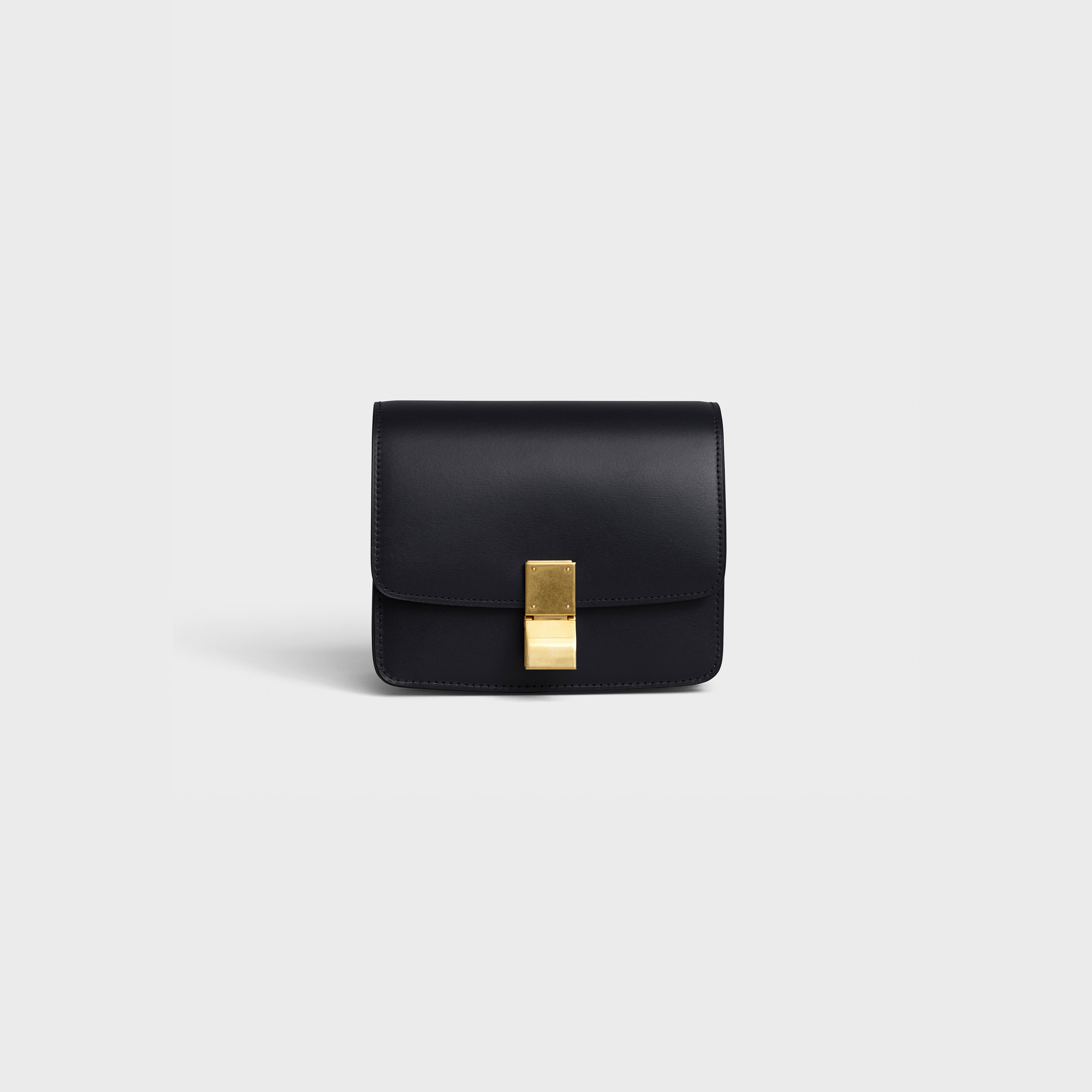 Small Classic bag in box calfskin | CELINE