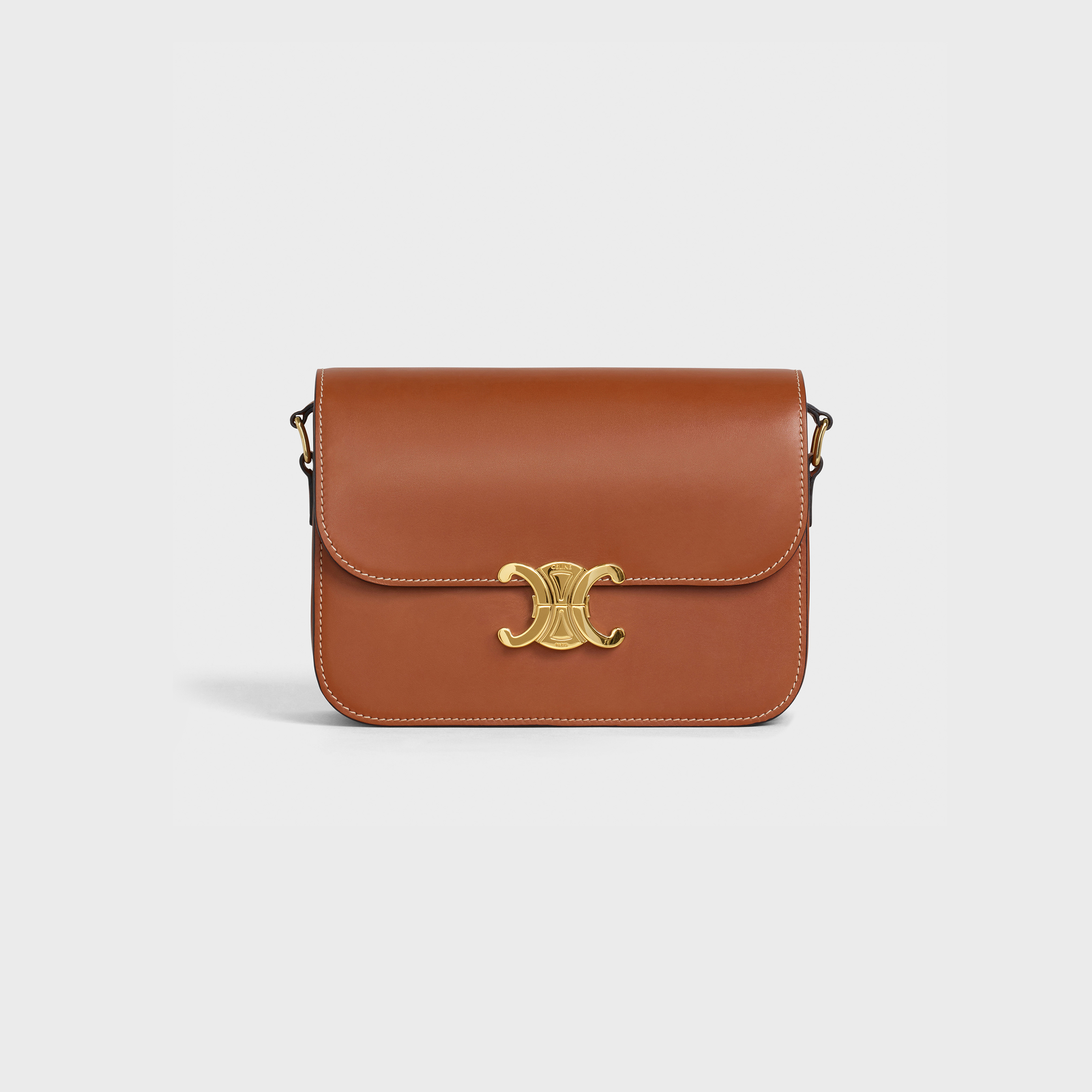 Medium Triomphe Bag in natural calfskin | CELINE