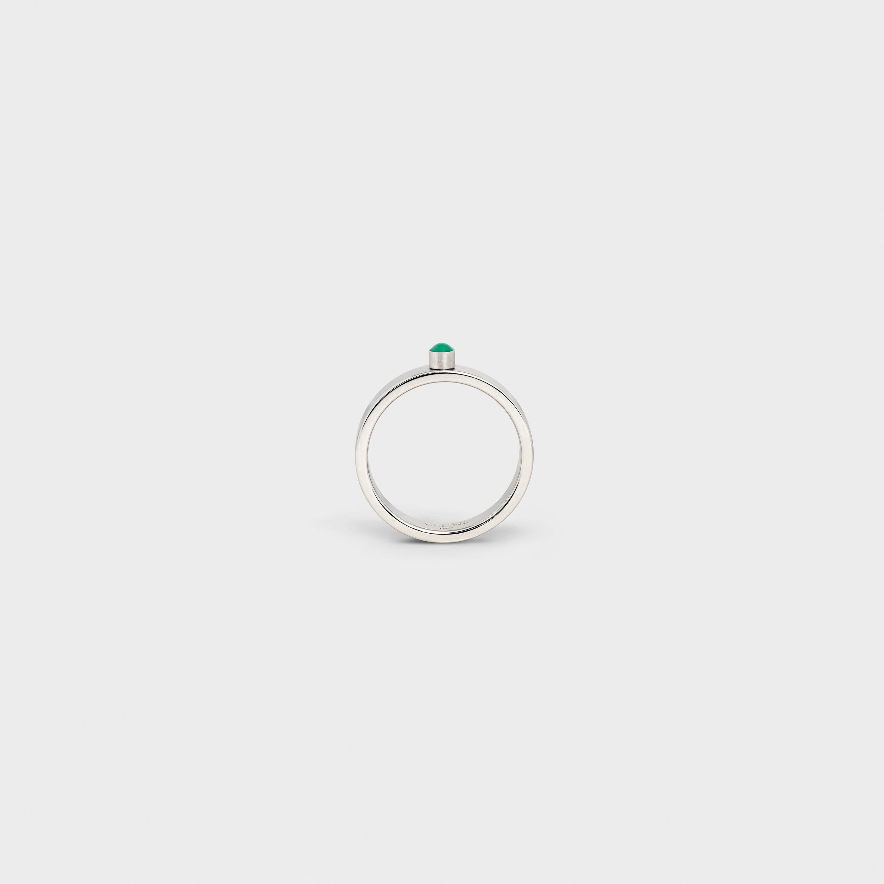 Technicolor Ring in Brass with Rhodium finish and Enamel | CELINE