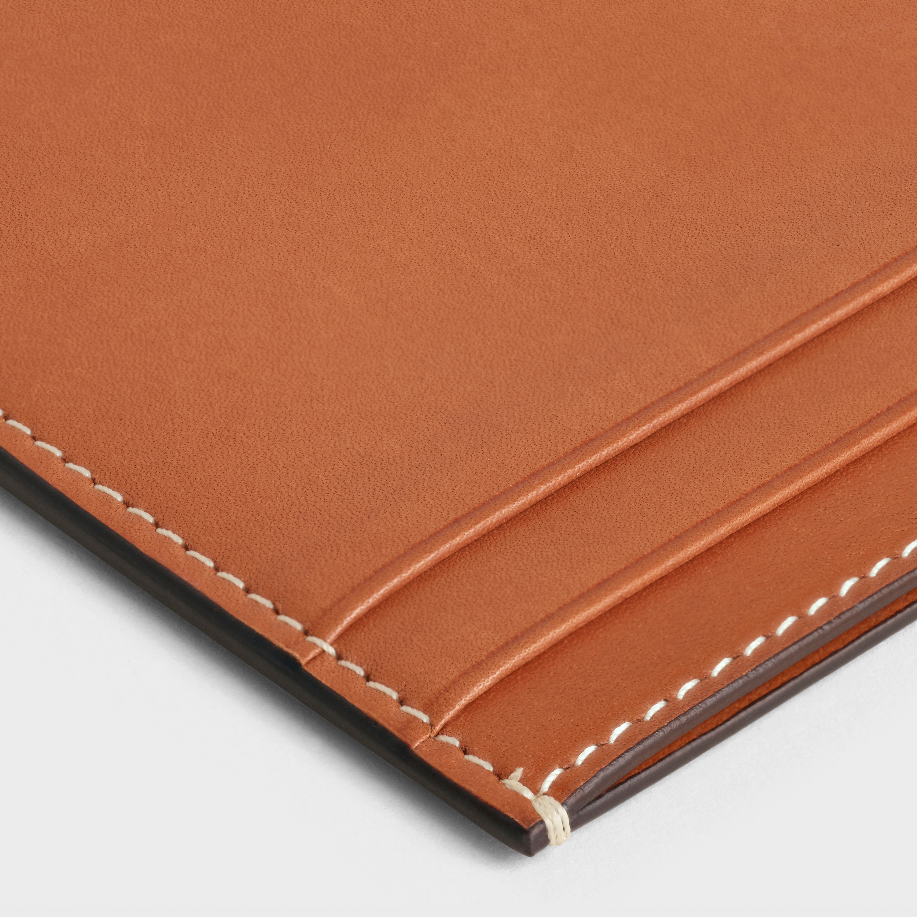 Multifunction card holder in natural calfskin | CELINE