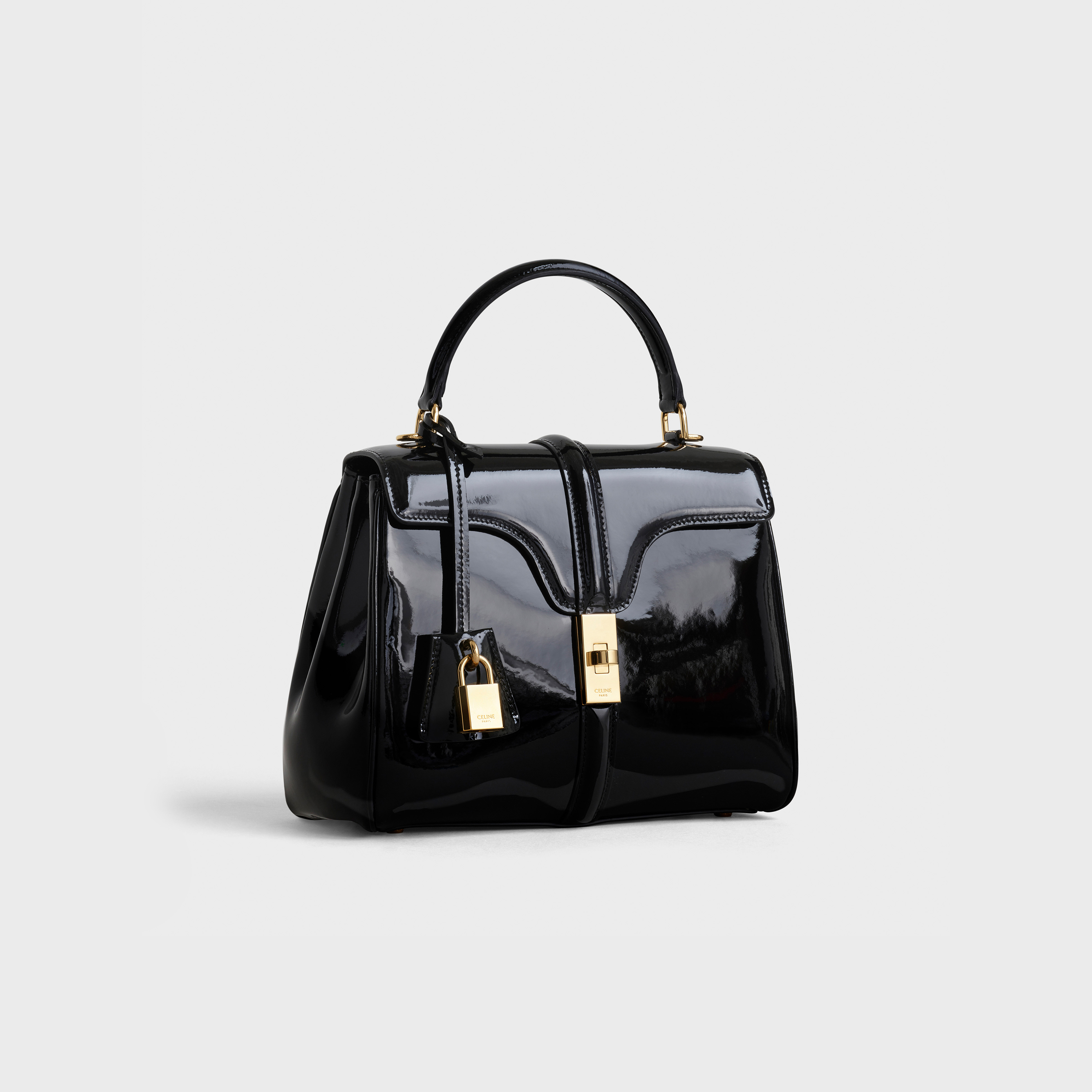 Small 16 Bag in patent calfskin | CELINE