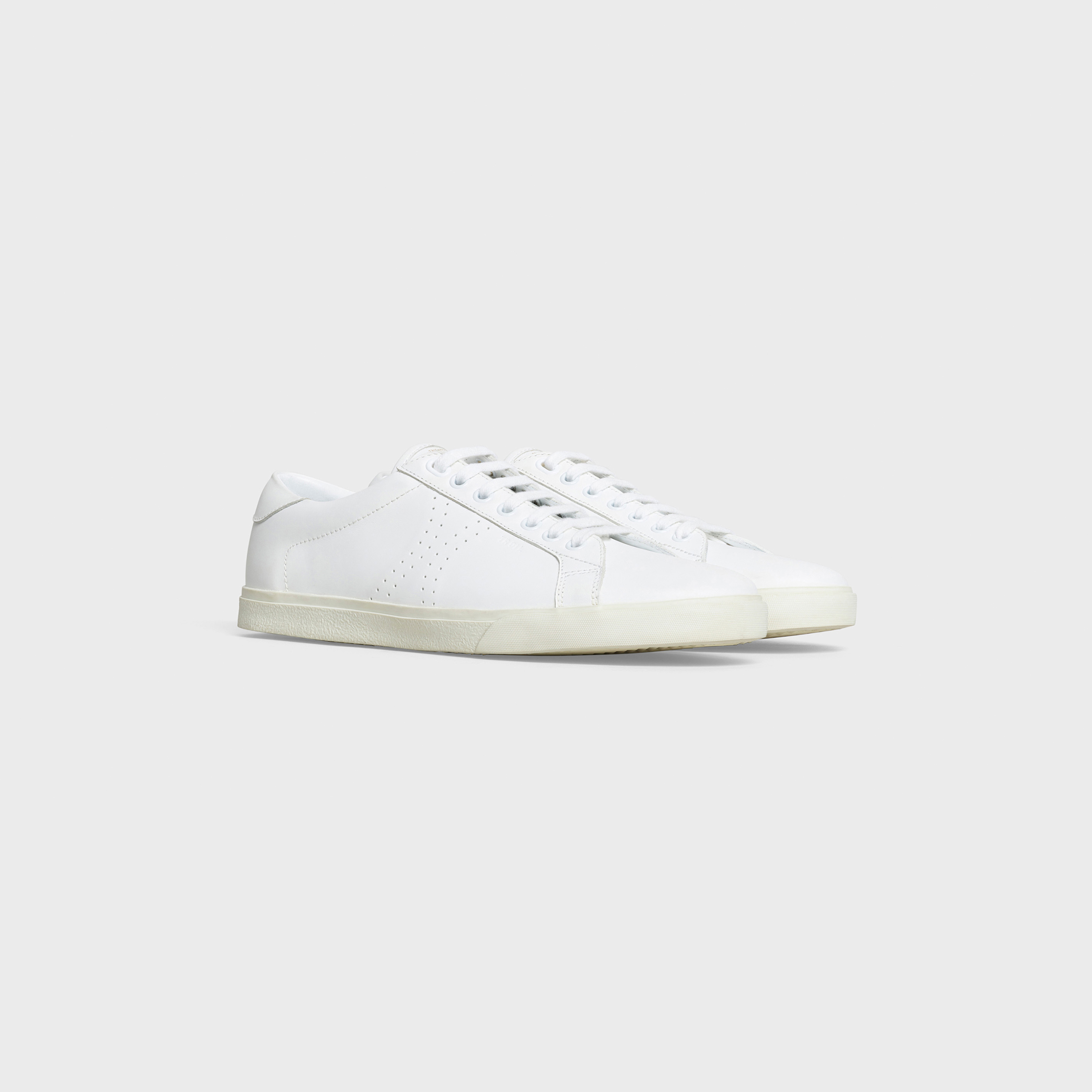 LOW LACE-UP SNEAKER Celine Triomphe in calfskin | CELINE