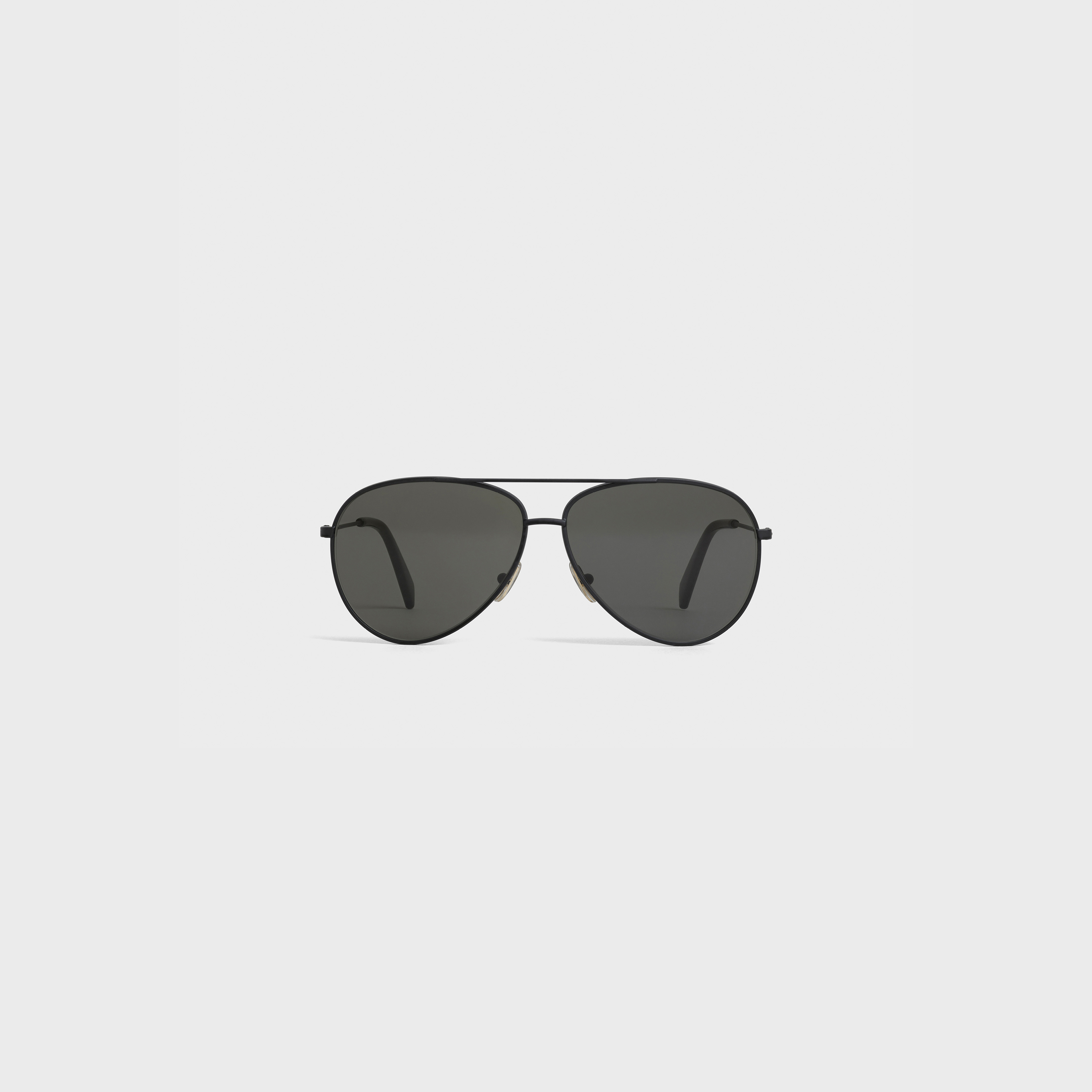 Metal Frame 01 sunglasses in Metal with Polarized Lenses | CELINE