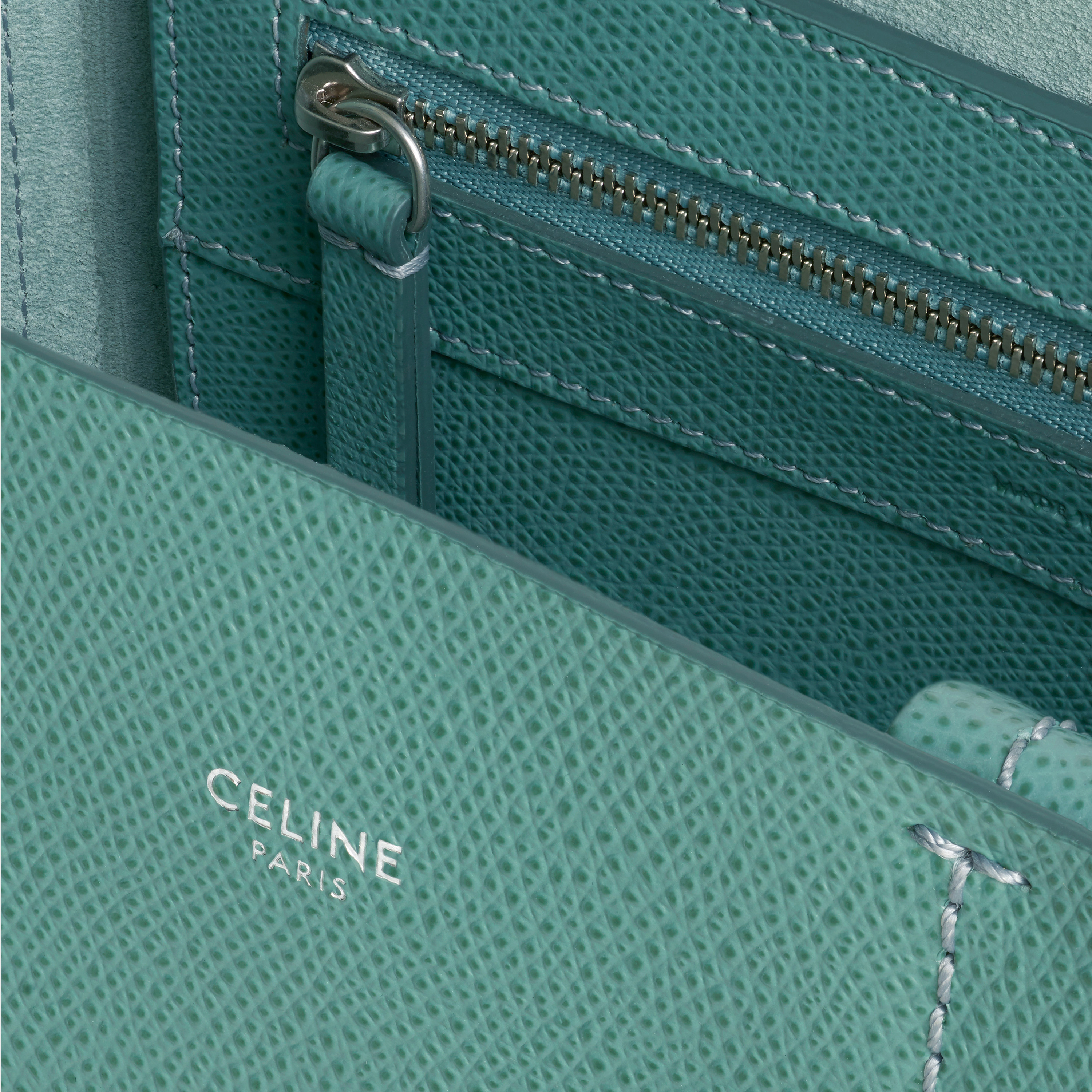 Small Cabas in grained calfskin | CELINE