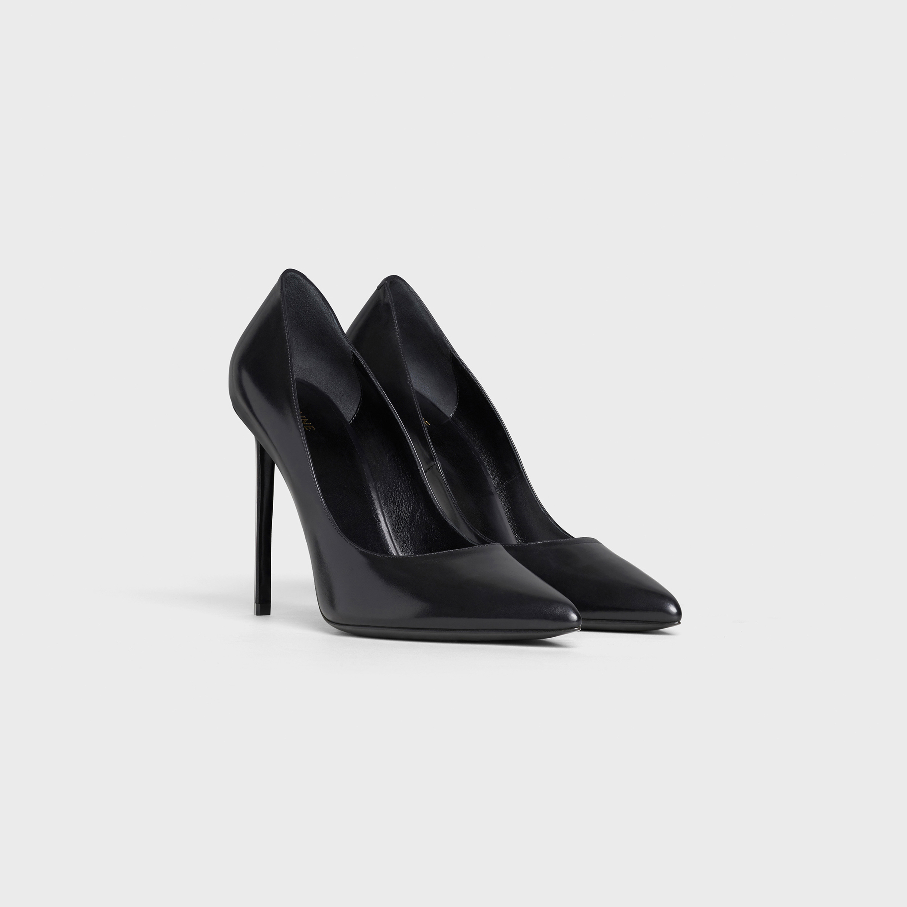 CELINE SHARP Pump in Shiny Calfskin | CELINE