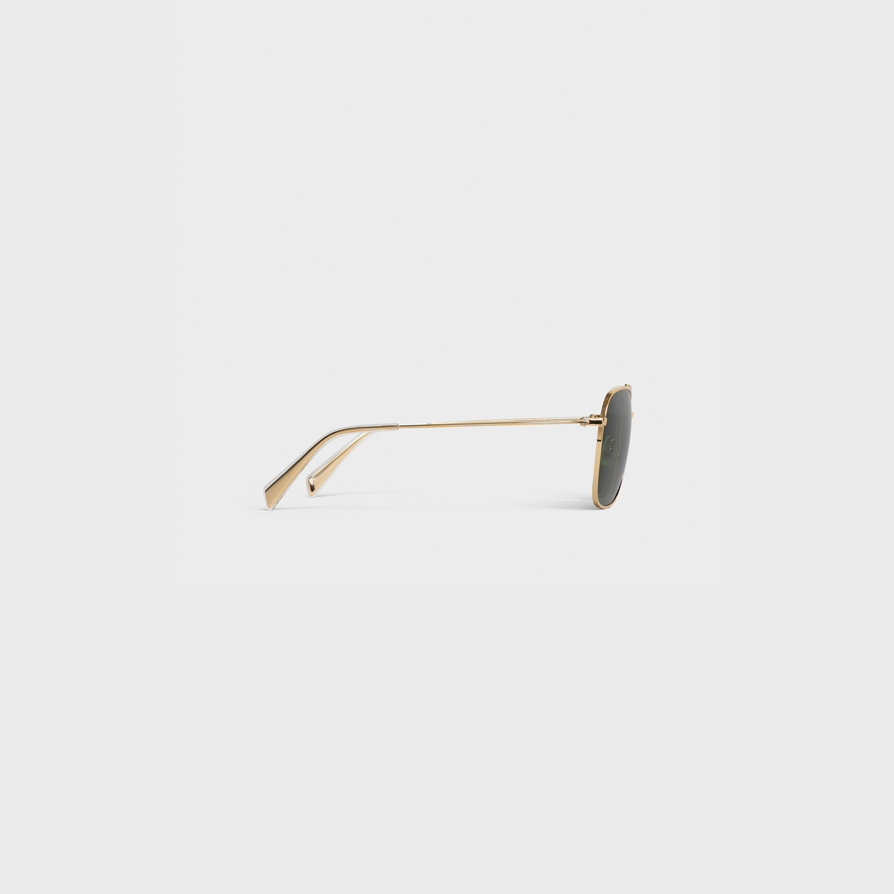 Metal Frame 03 sunglasses in Metal with Mineral Glass Lenses | CELINE