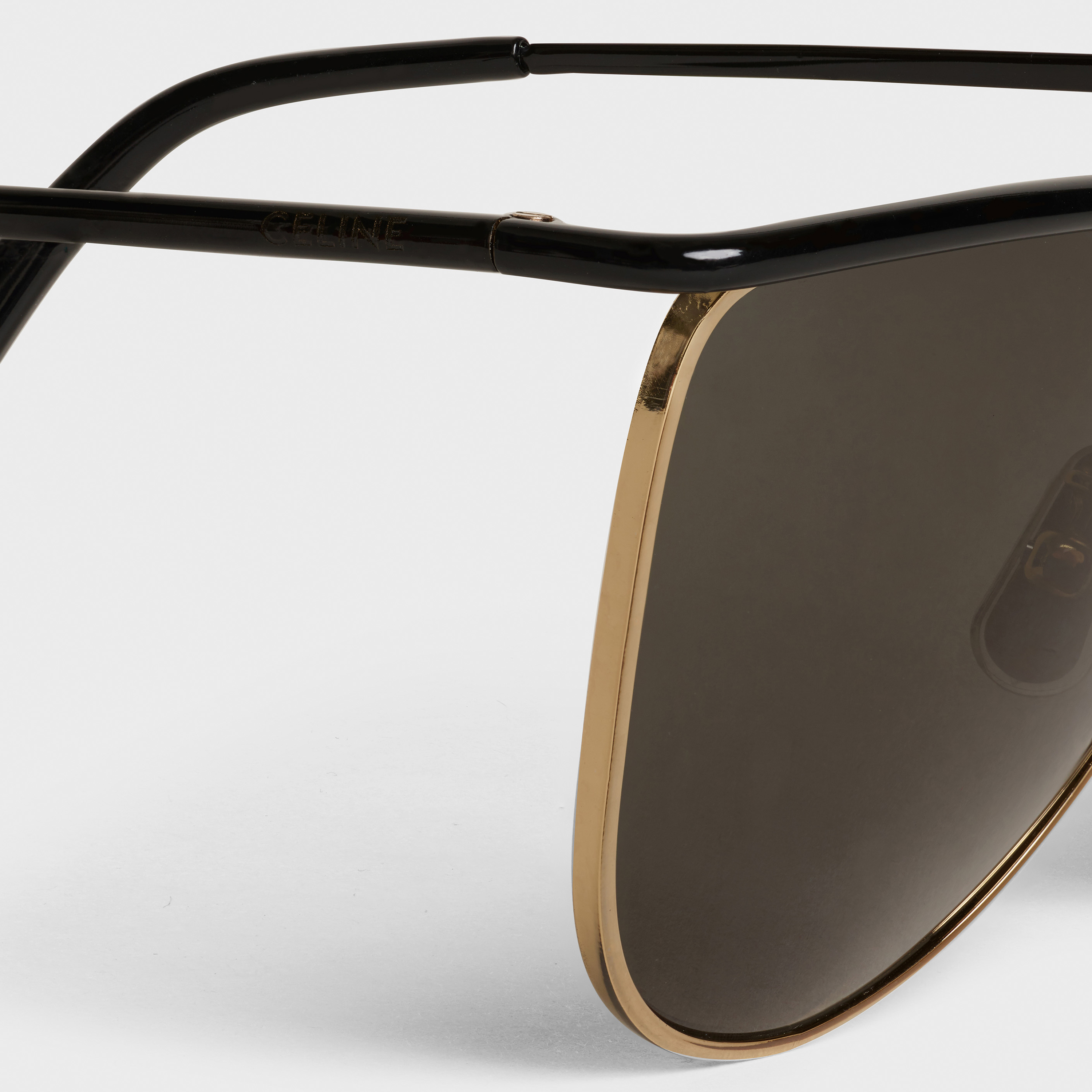 Metal Frame 08 x Andy Sunglasses in Metal | CELINE