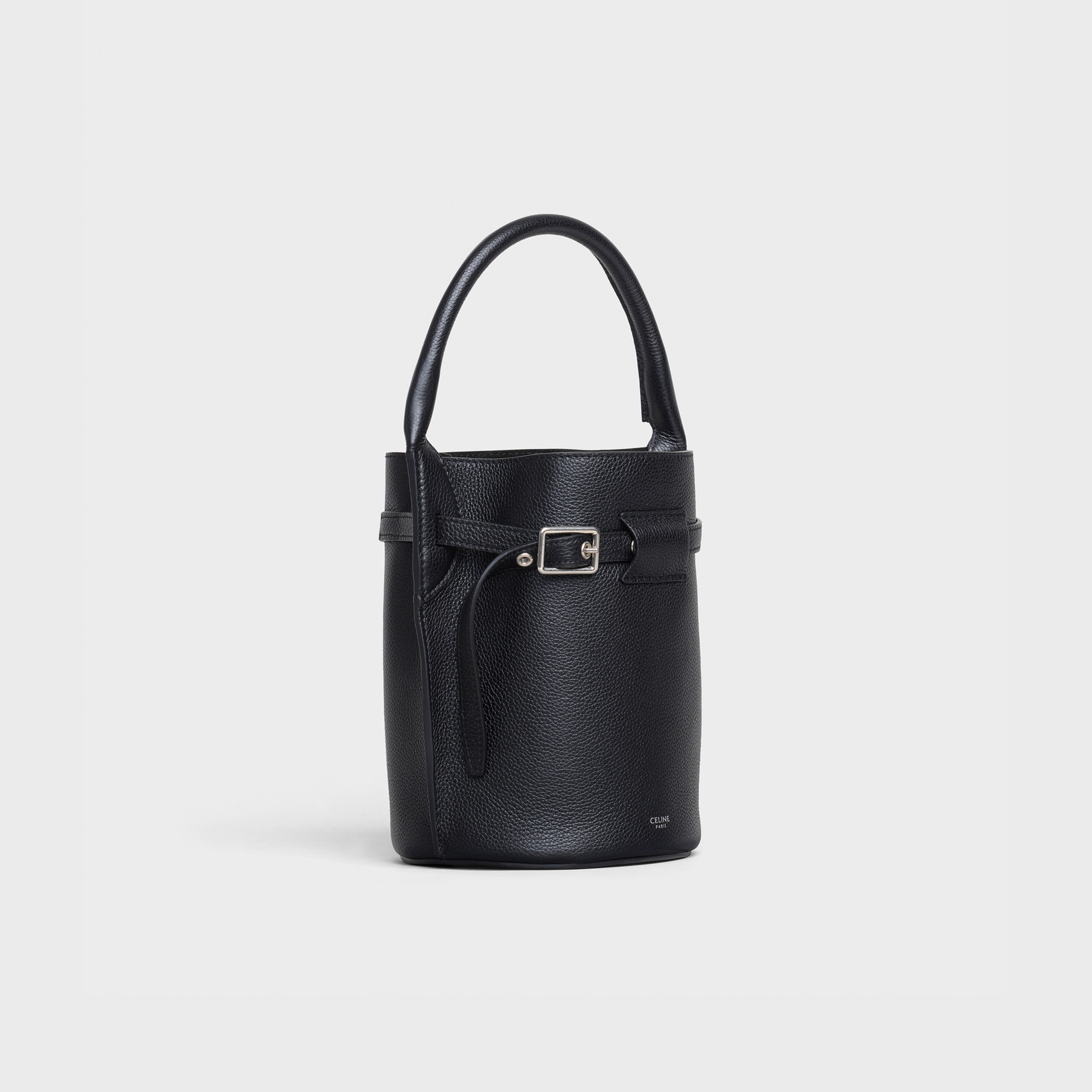 Big Bag Nano Bucket in supple grained calfskin | CELINE