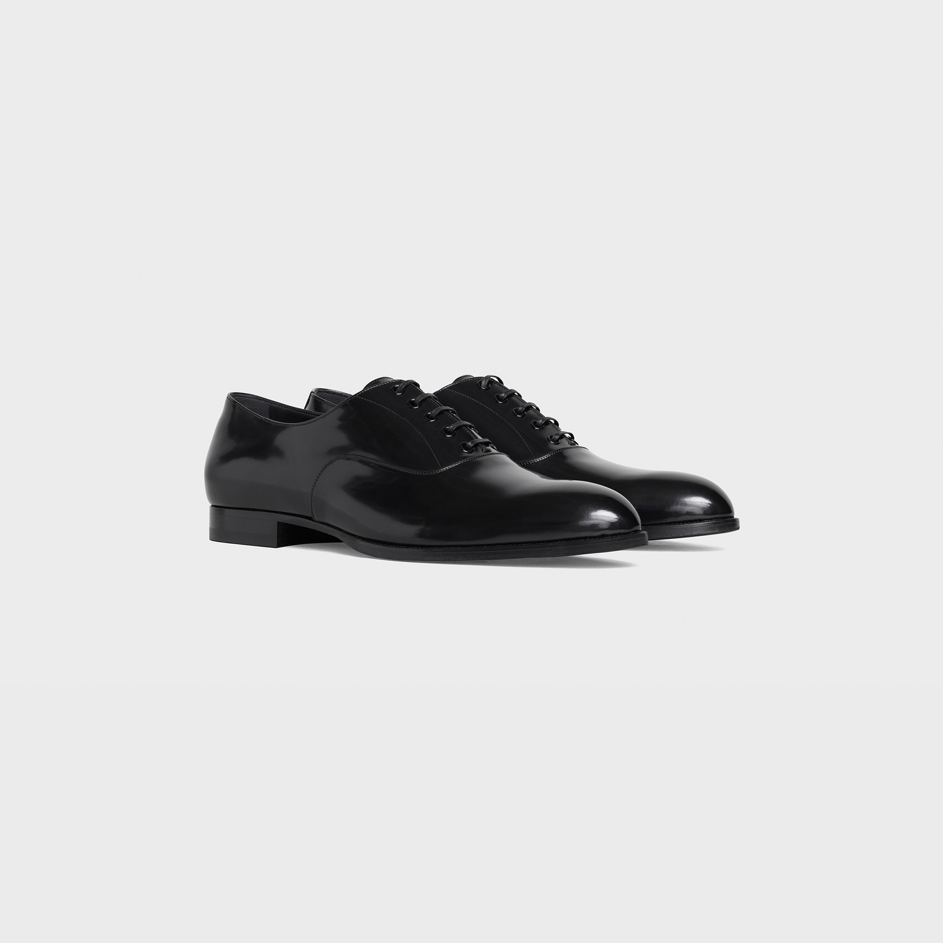 CELINE DRUGSTORE Oxford in Polished Calfskin | CELINE