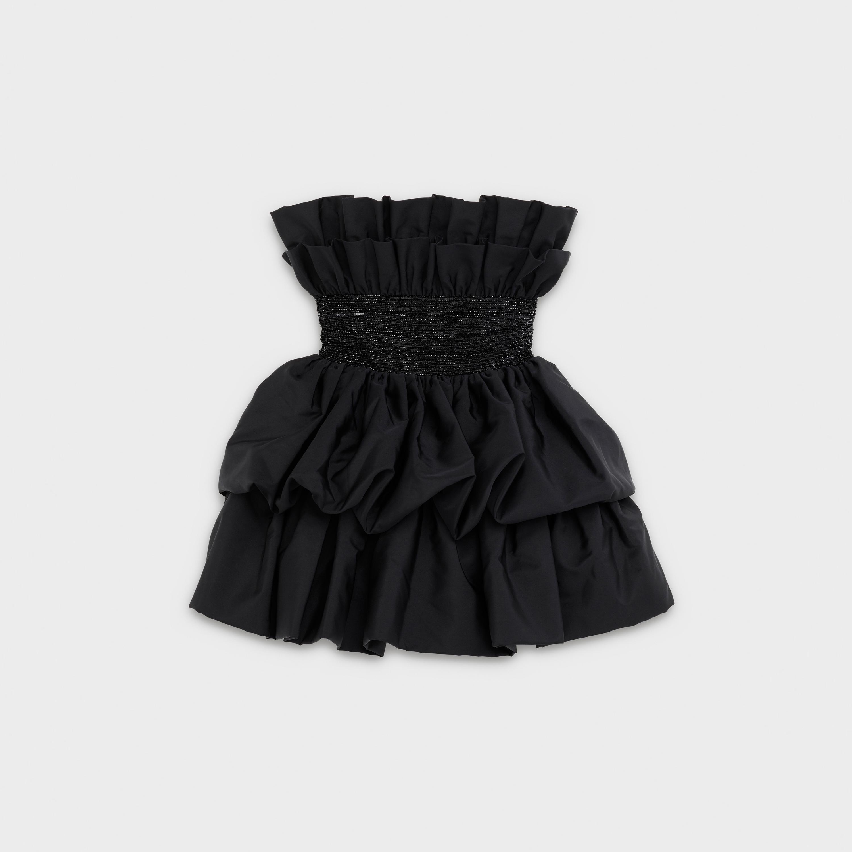 Robe Bustier Volants Radzimir Black Celine