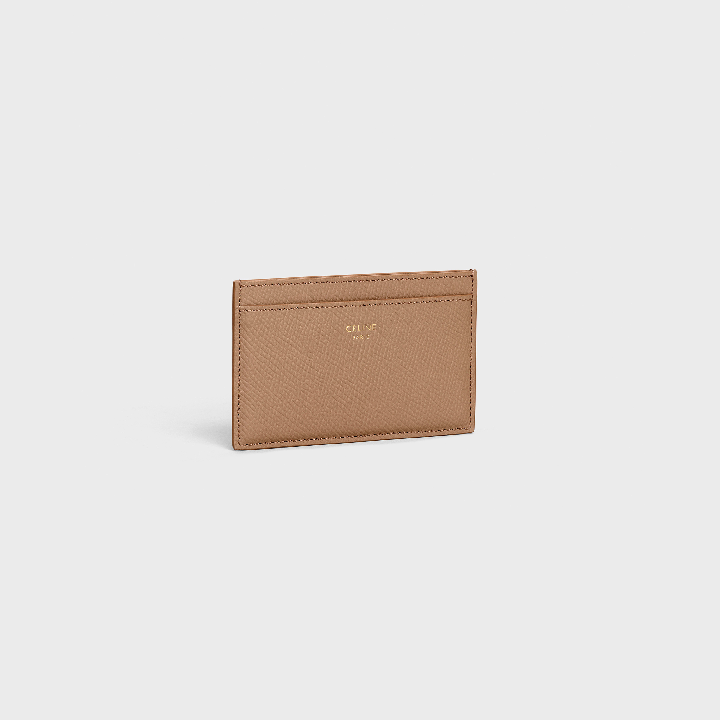 Card holder in grained calfskin | CELINE