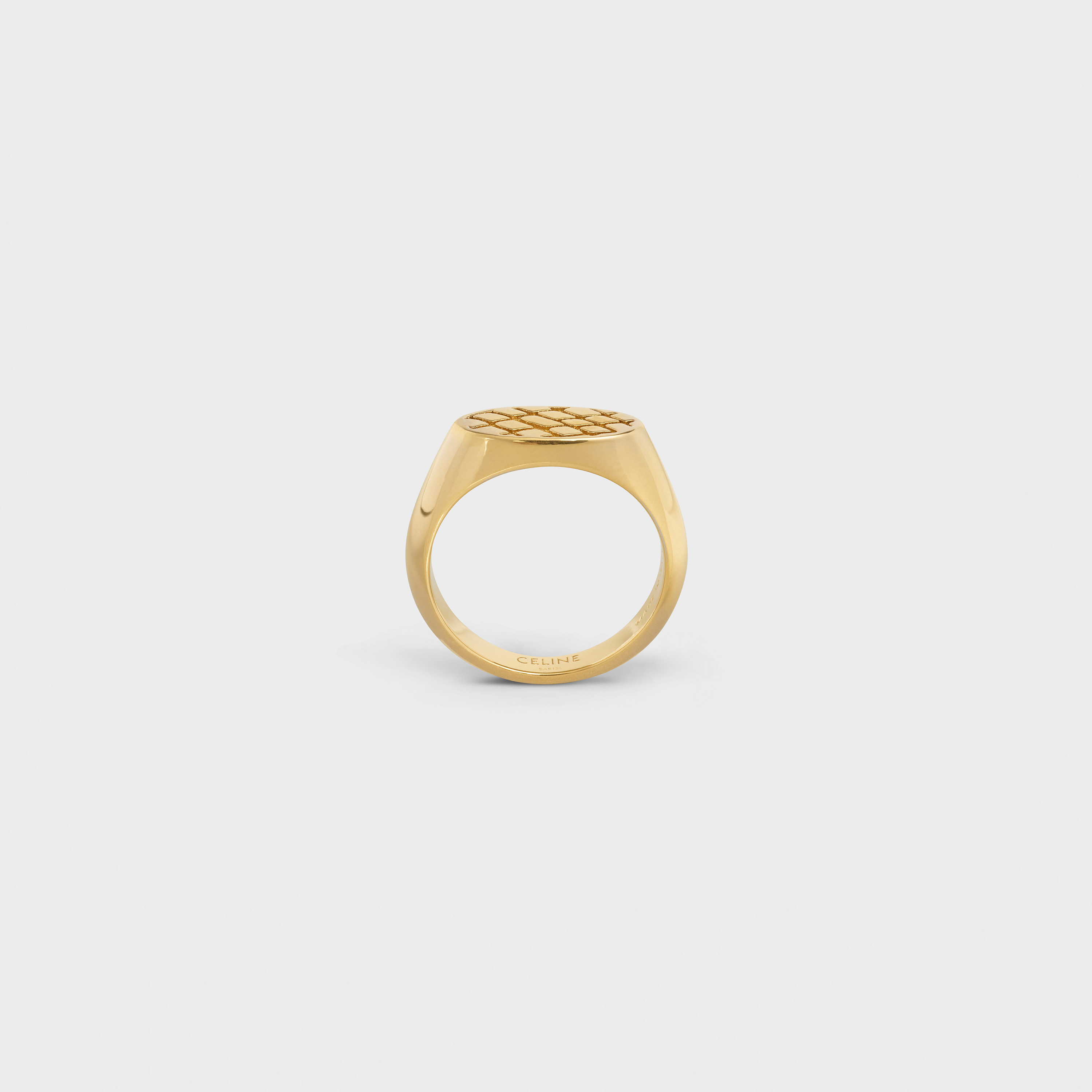 Celine Animals Small Ring in Brass with Vintage Gold finish | CELINE