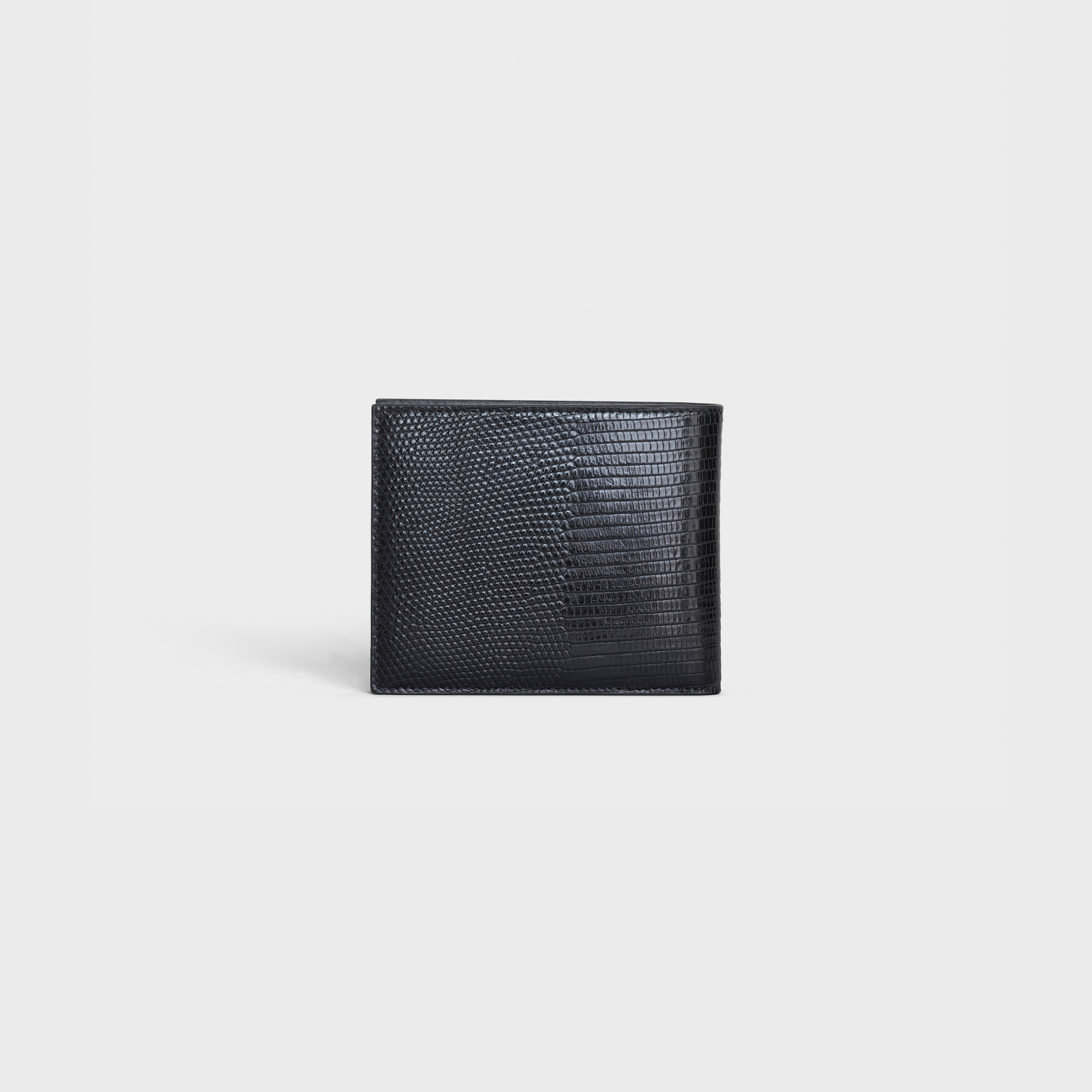 Bi-fold wallet in lizard | CELINE