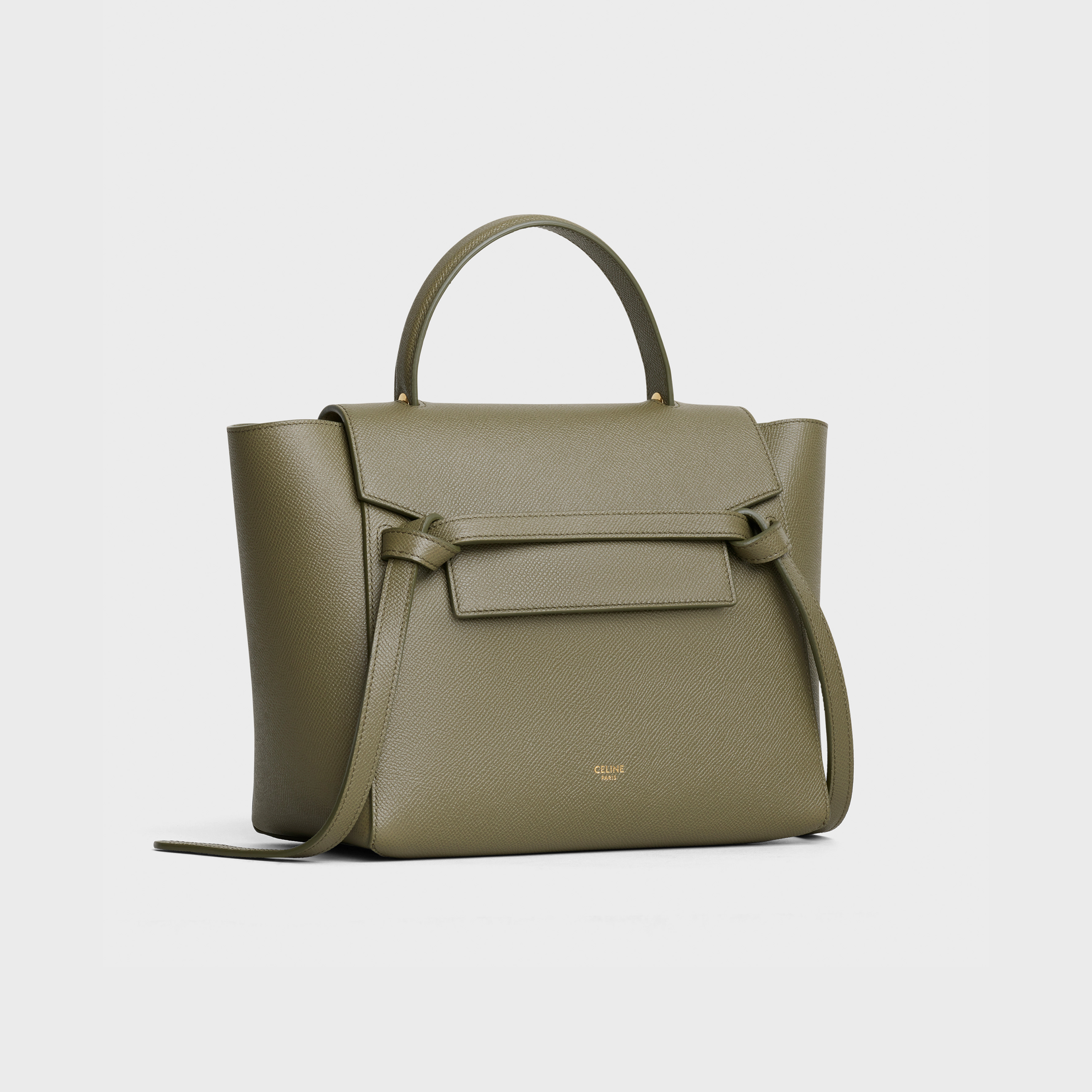 Micro Belt bag in grained calfskin | CELINE