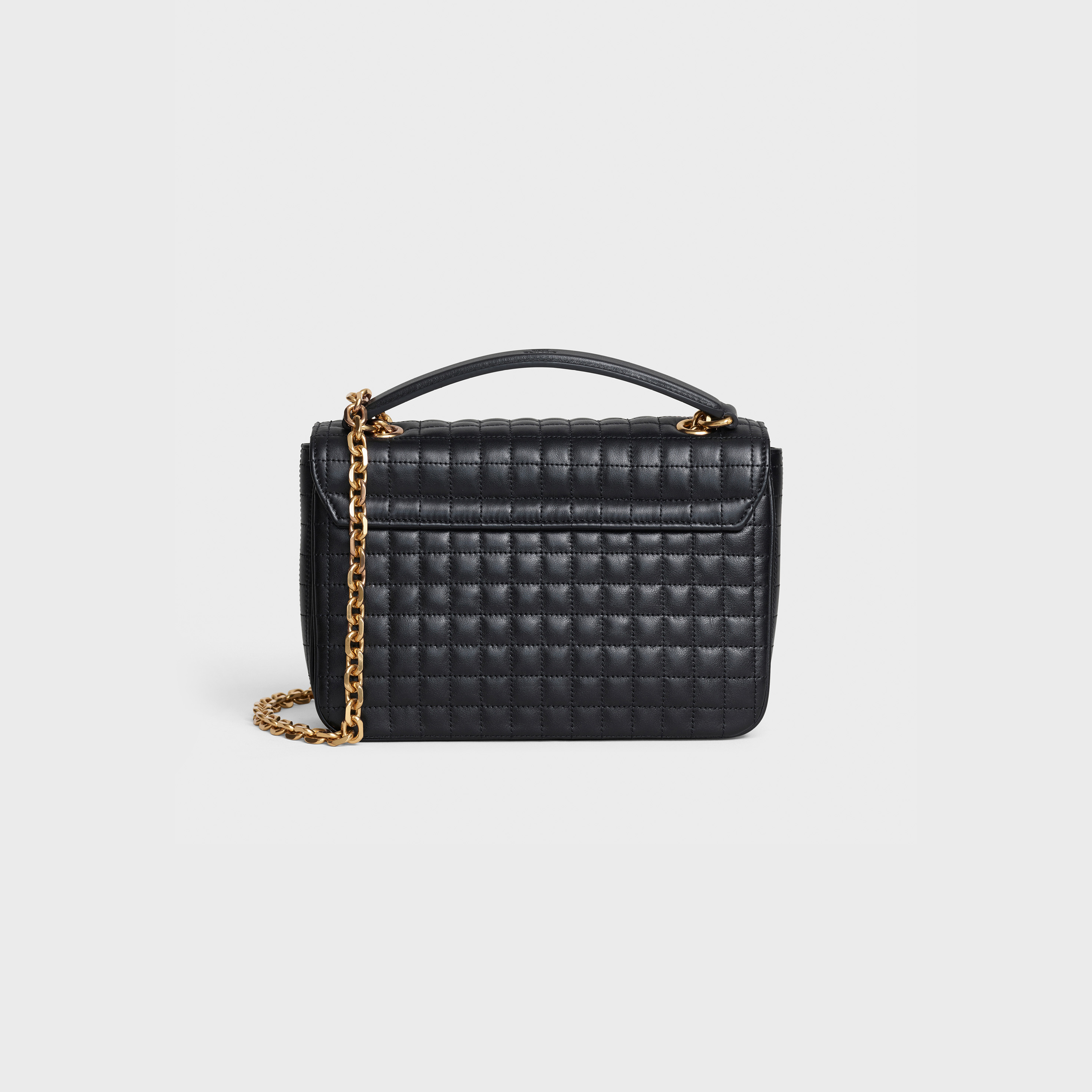 Medium C Bag in quilted calfskin | CELINE