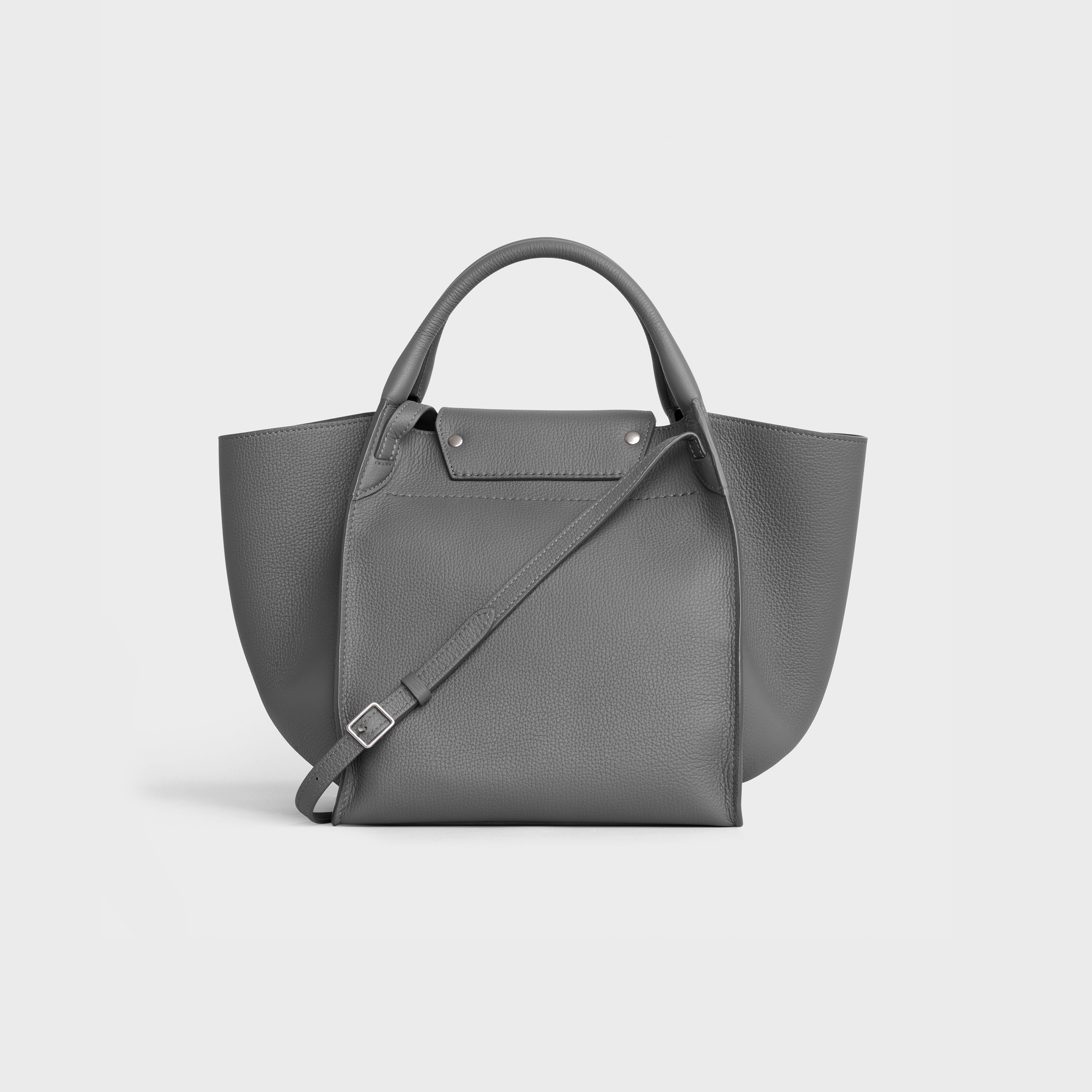 Small Big Bag with long strap in supple grained calfskin | CELINE