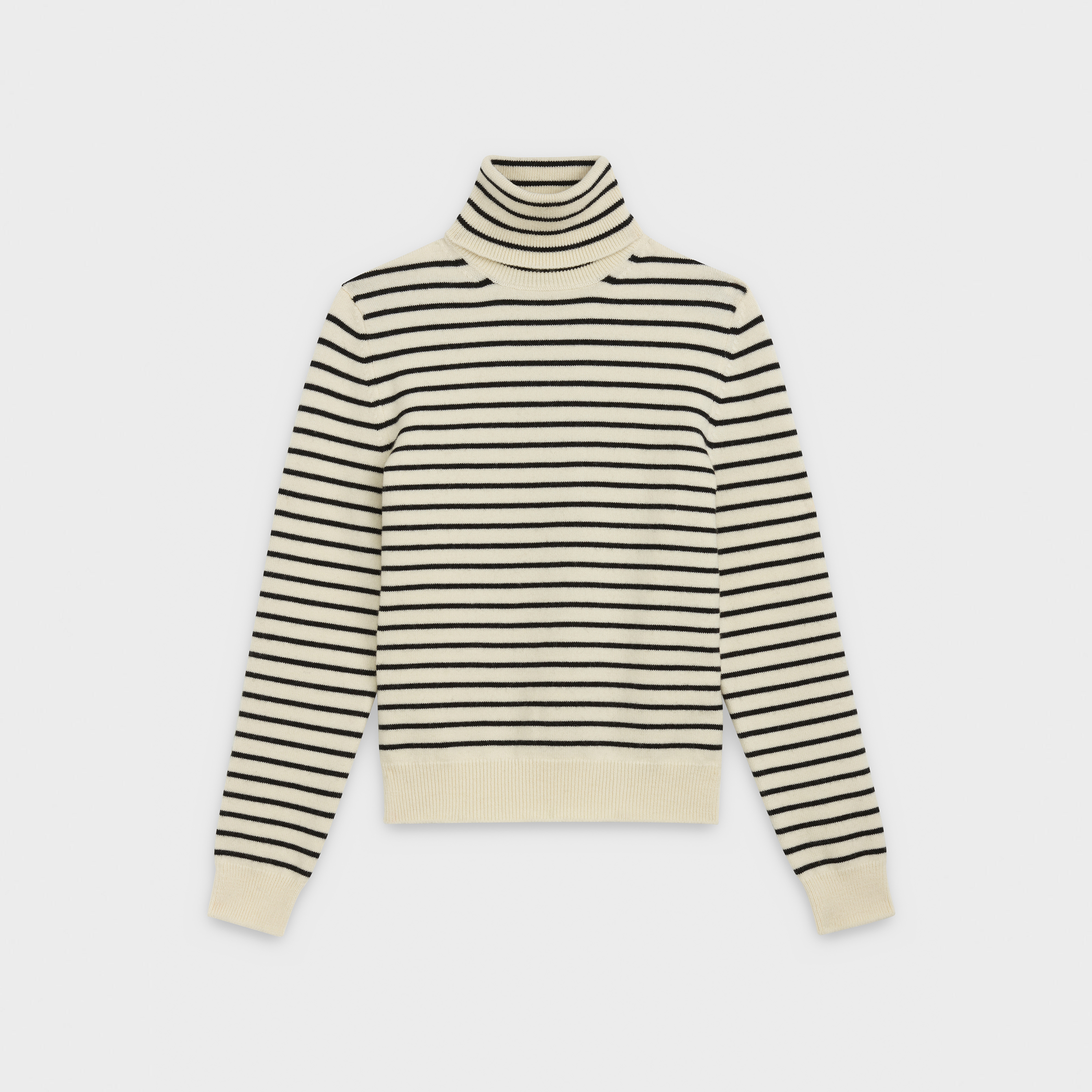 turtleneck sweater in knit | CELINE