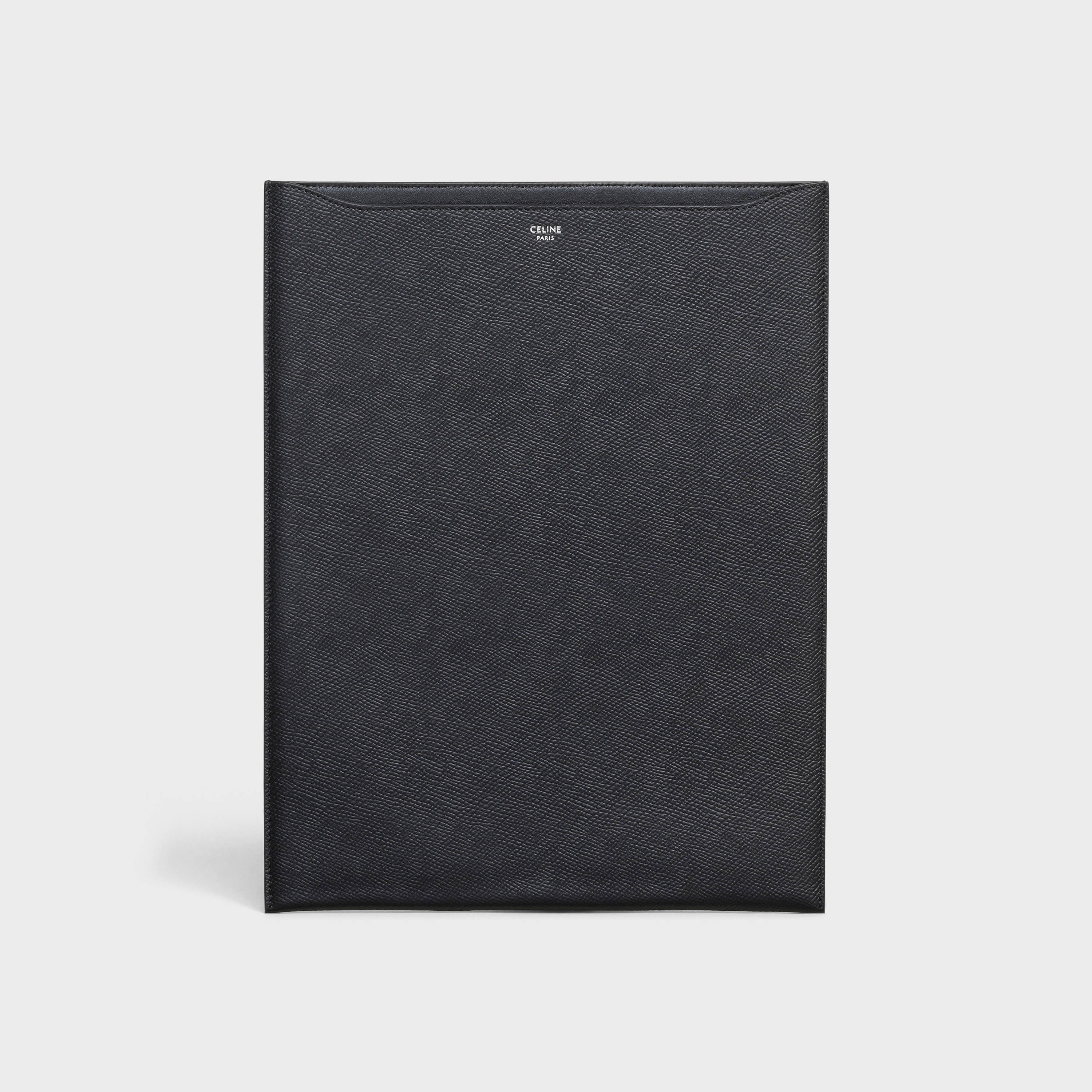 Tablet sleeve 12.9 inches in Grained Calfskin | CELINE