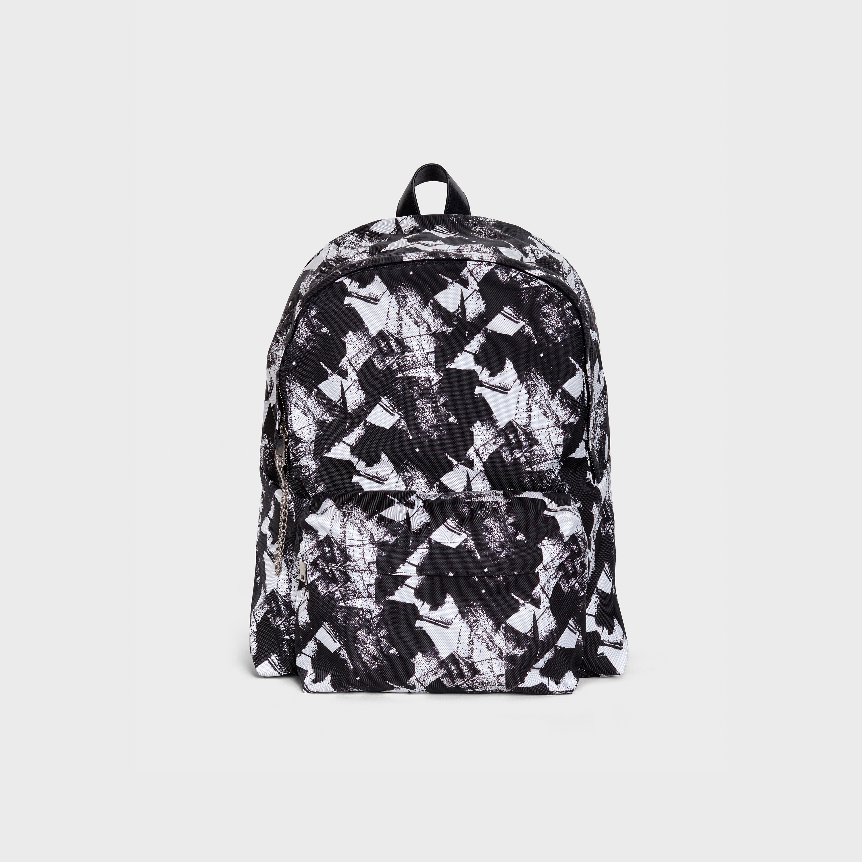 "Medium Backpack in David Hominal "" Détail "" printed Nylon 