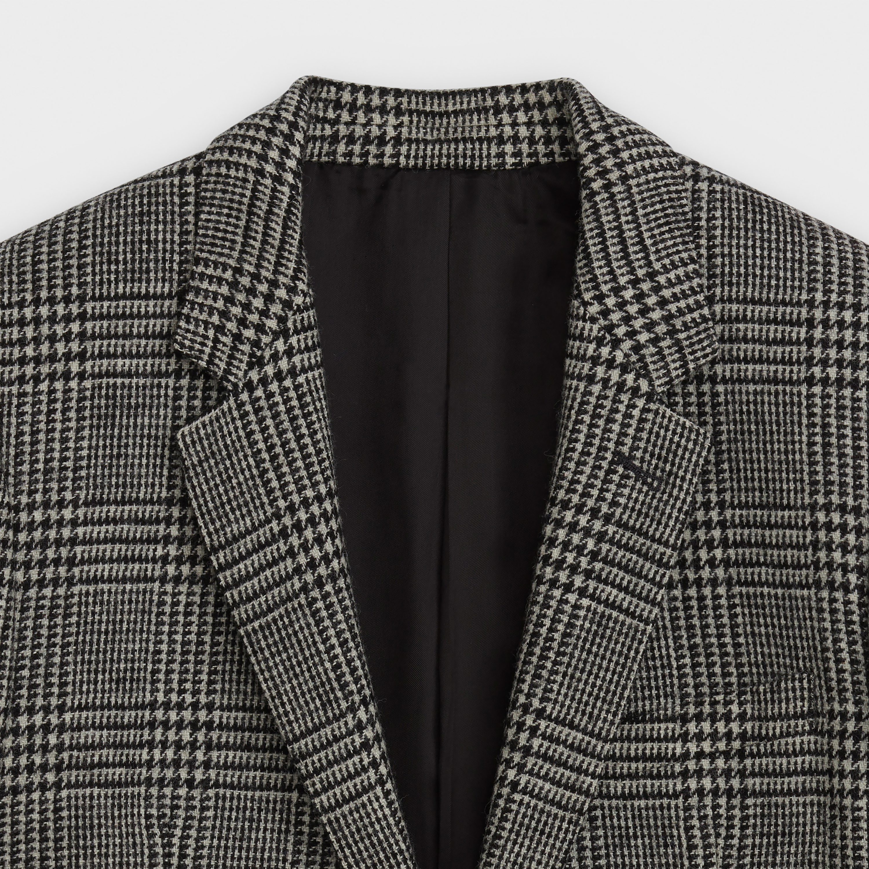 rectangle jacket in Prince of Wales | CELINE