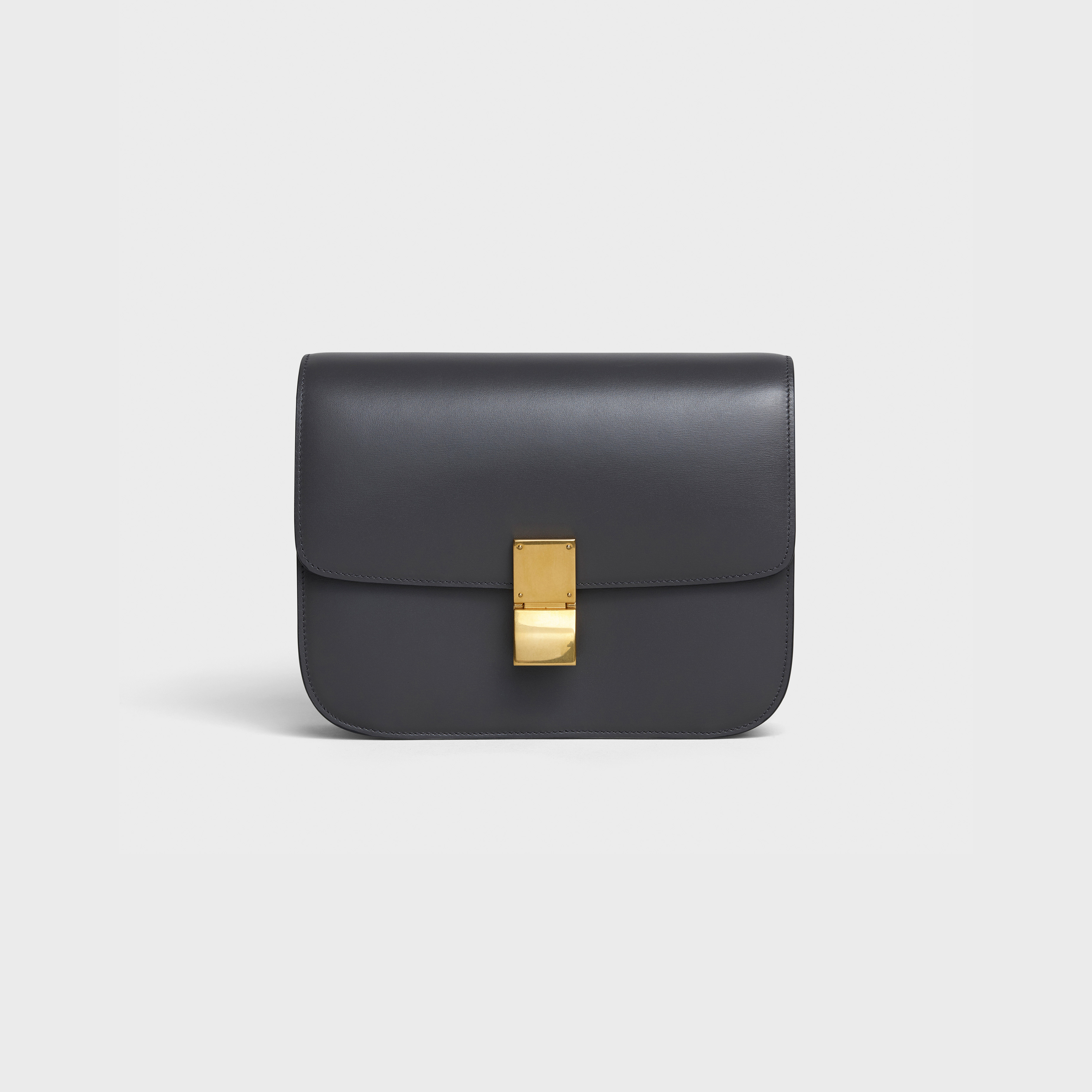 Medium Classic bag in box calfskin | CELINE