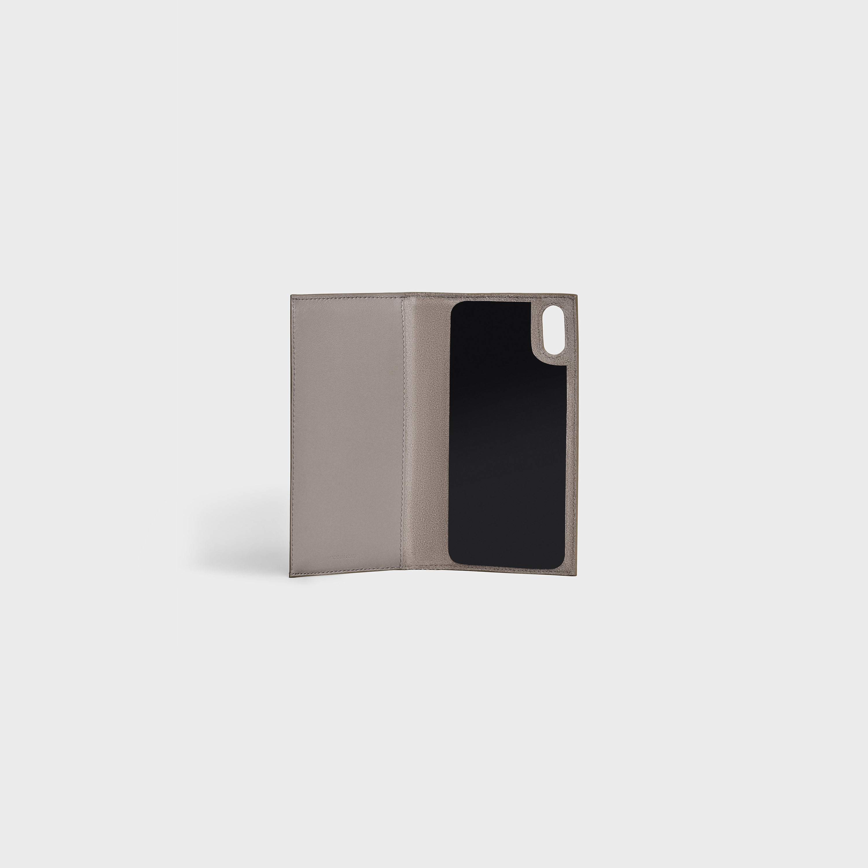 Iphone X & XS Folio in Grained and Smooth Calfskin | CELINE
