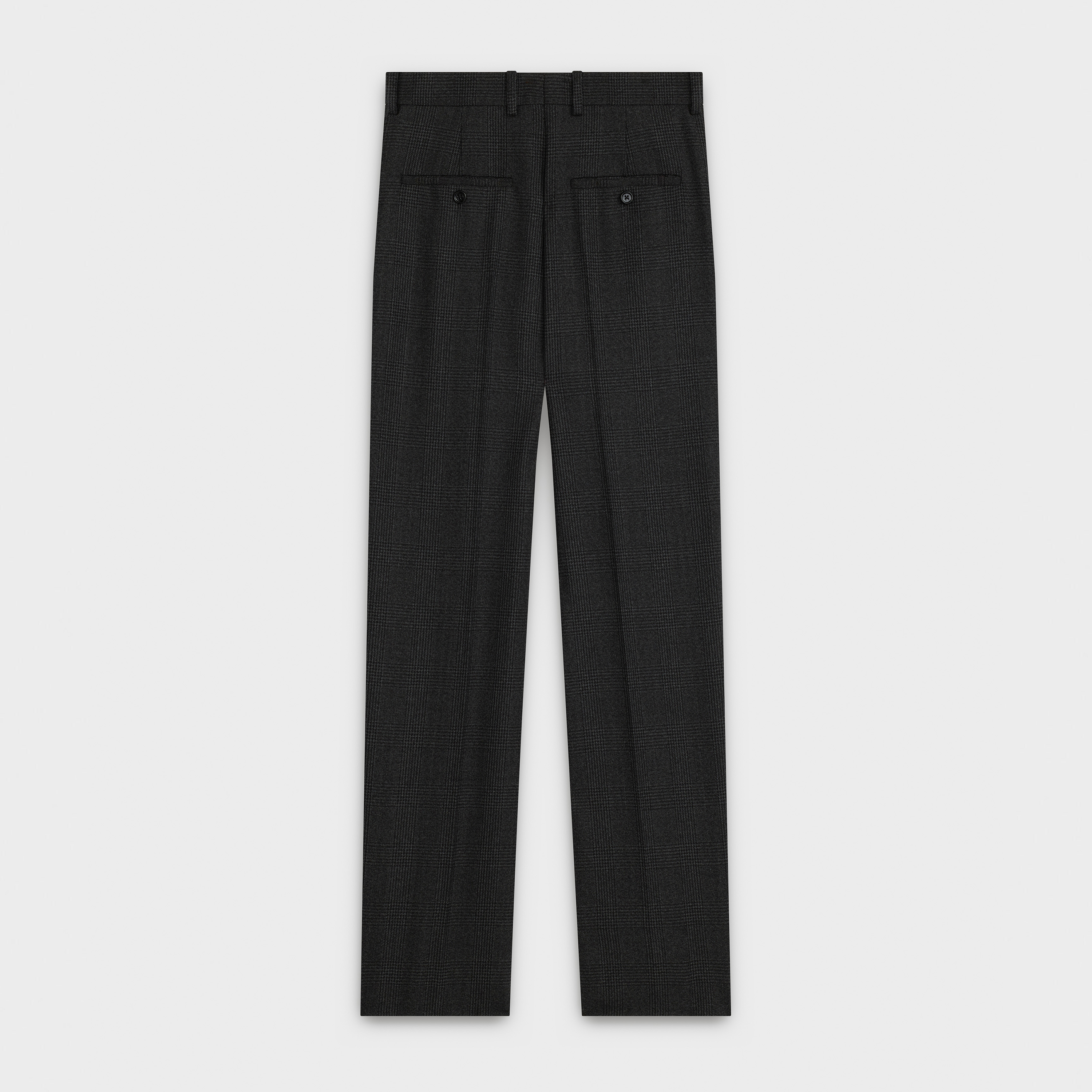 new wave pants in prince of wales | CELINE