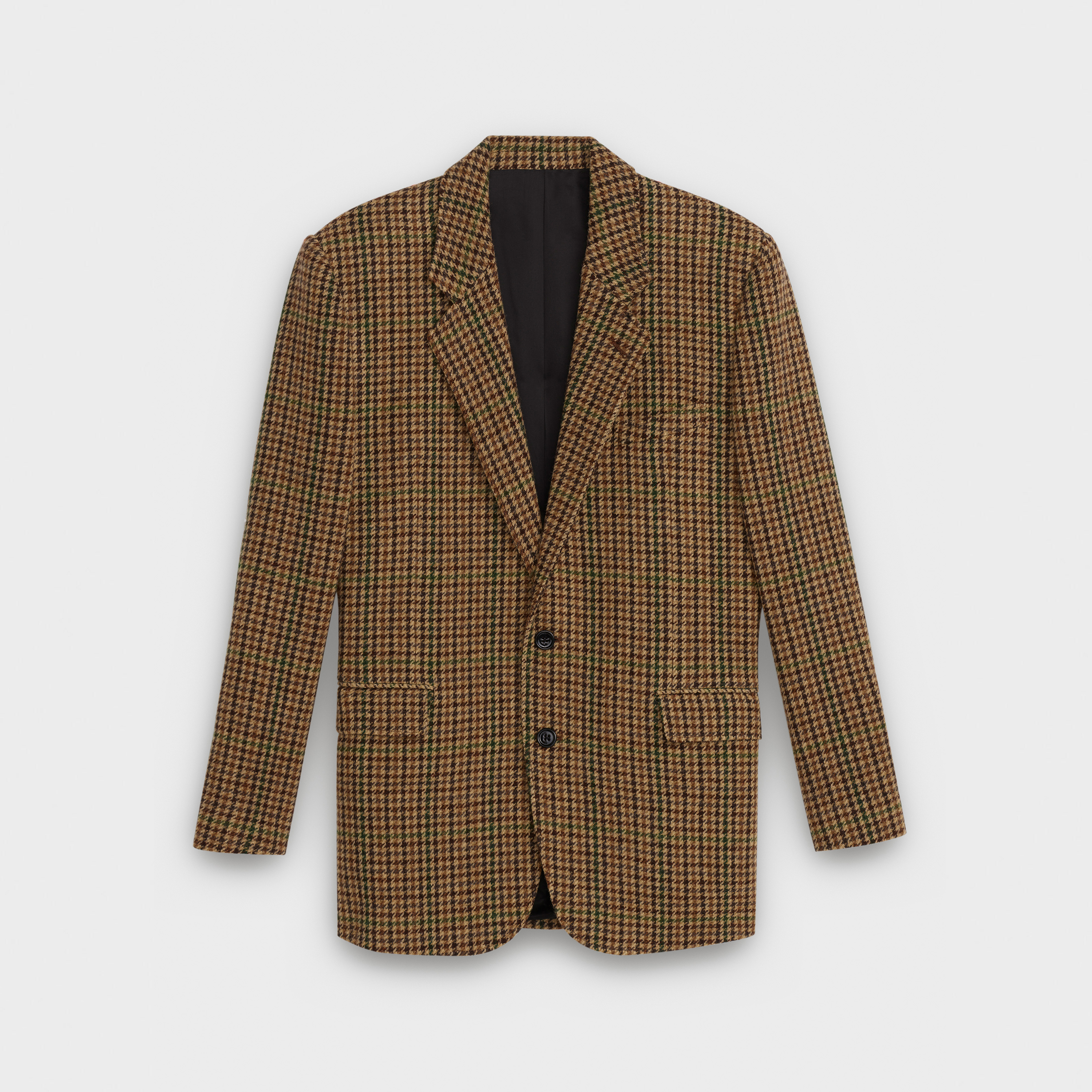 """Tournon"" jacket in checked wool 