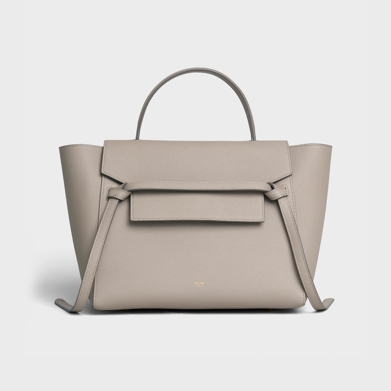 Mini Belt Bag In Grained Calfskin
