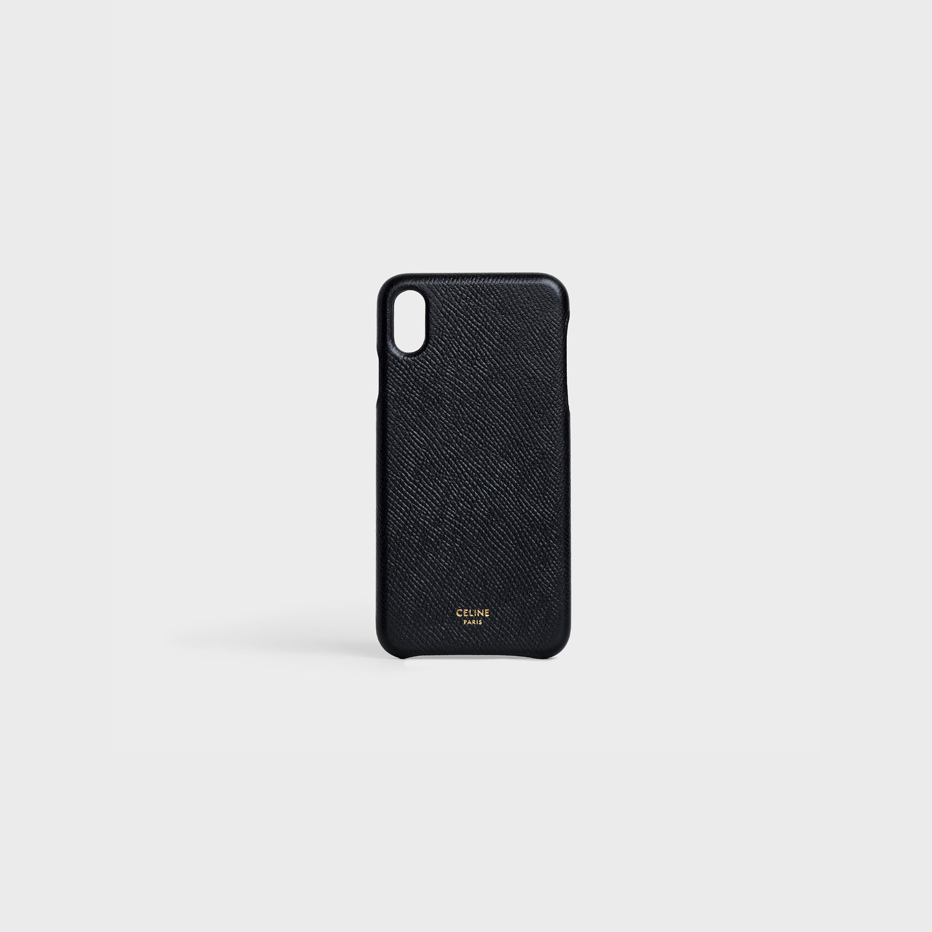 Iphone XS MAX Case in grained lambskin | CELINE