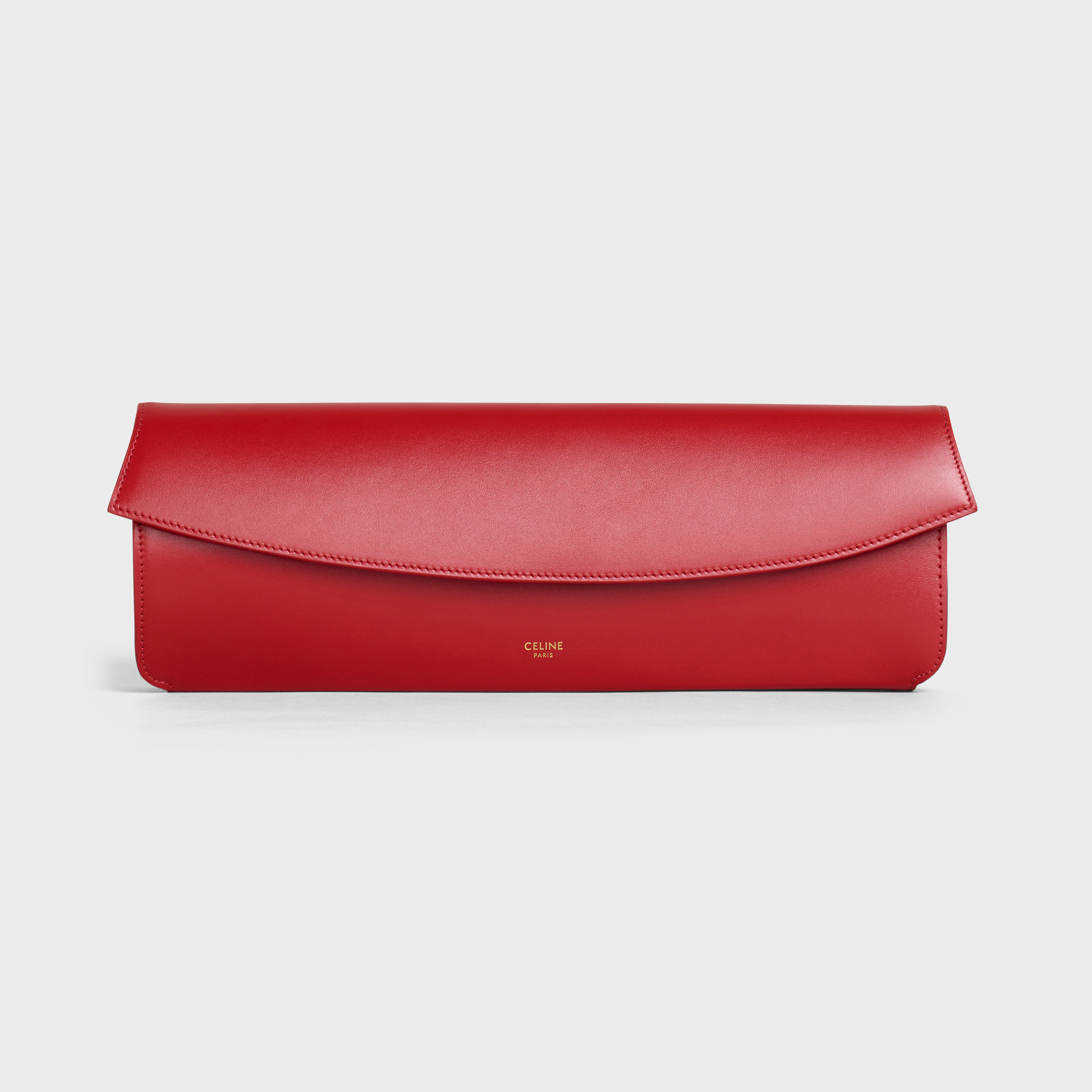 Evening clutch in smooth calfskin | CELINE