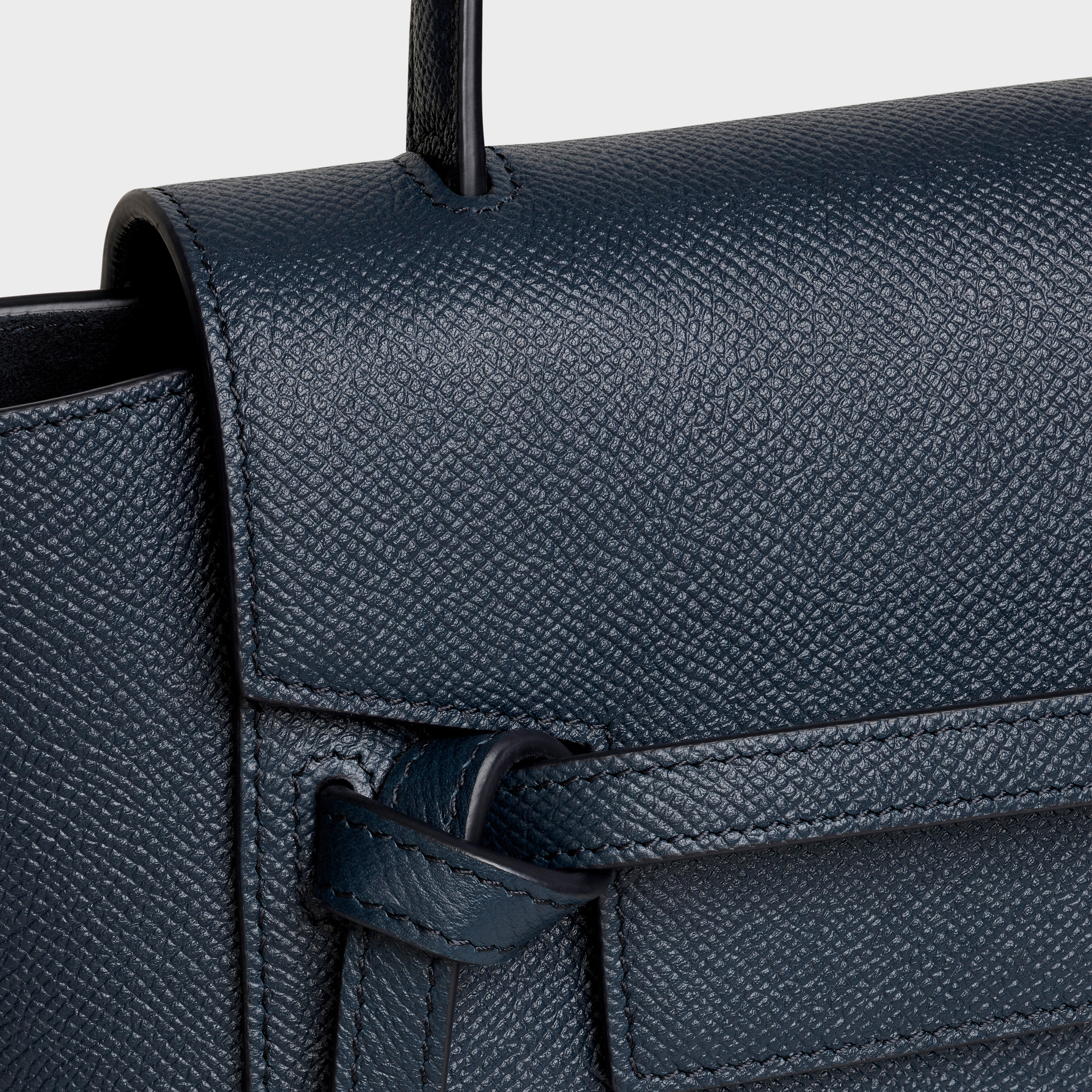 Nano Belt bag in grained calfskin | CELINE