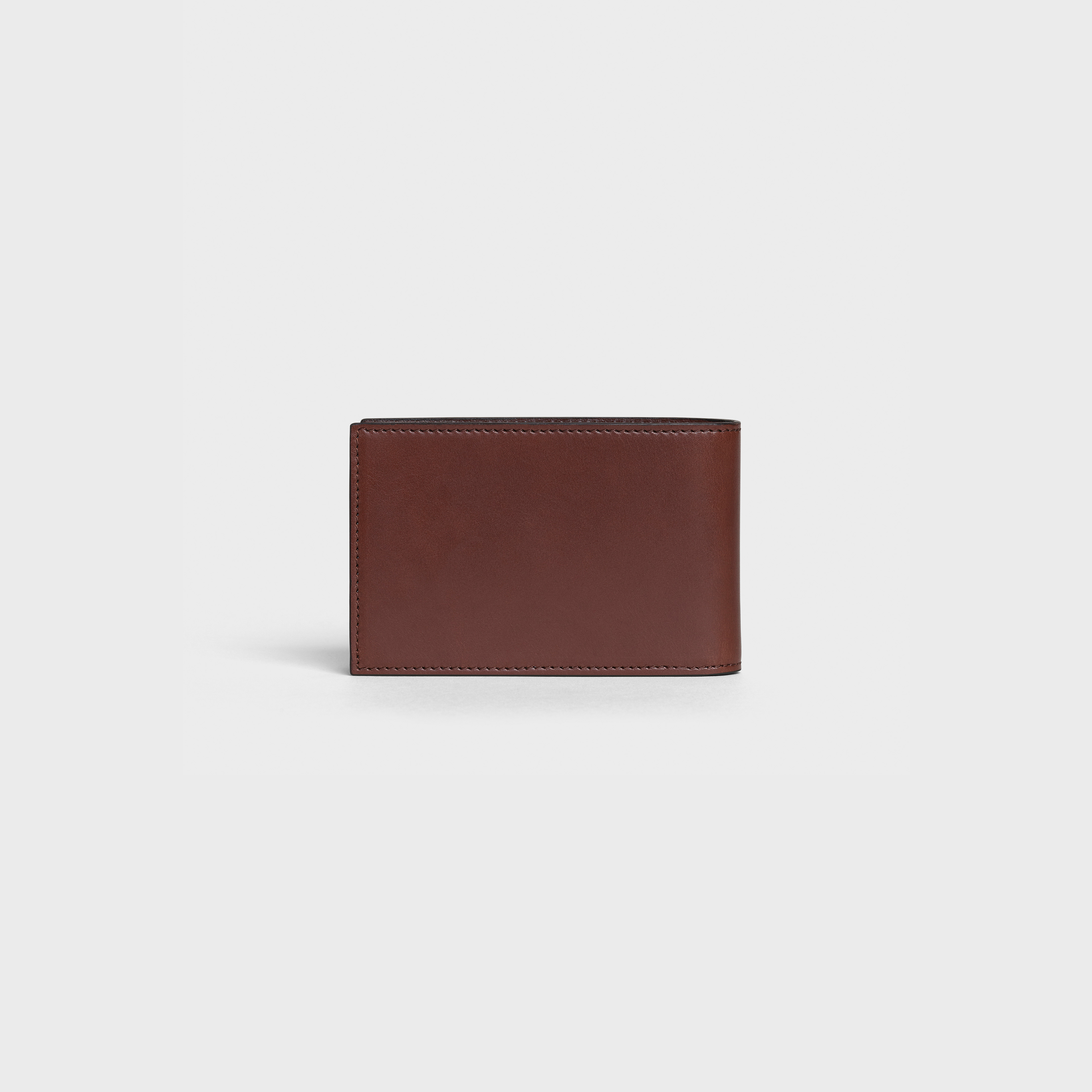 Compact Bi-fold Wallet in smooth calfskin | CELINE