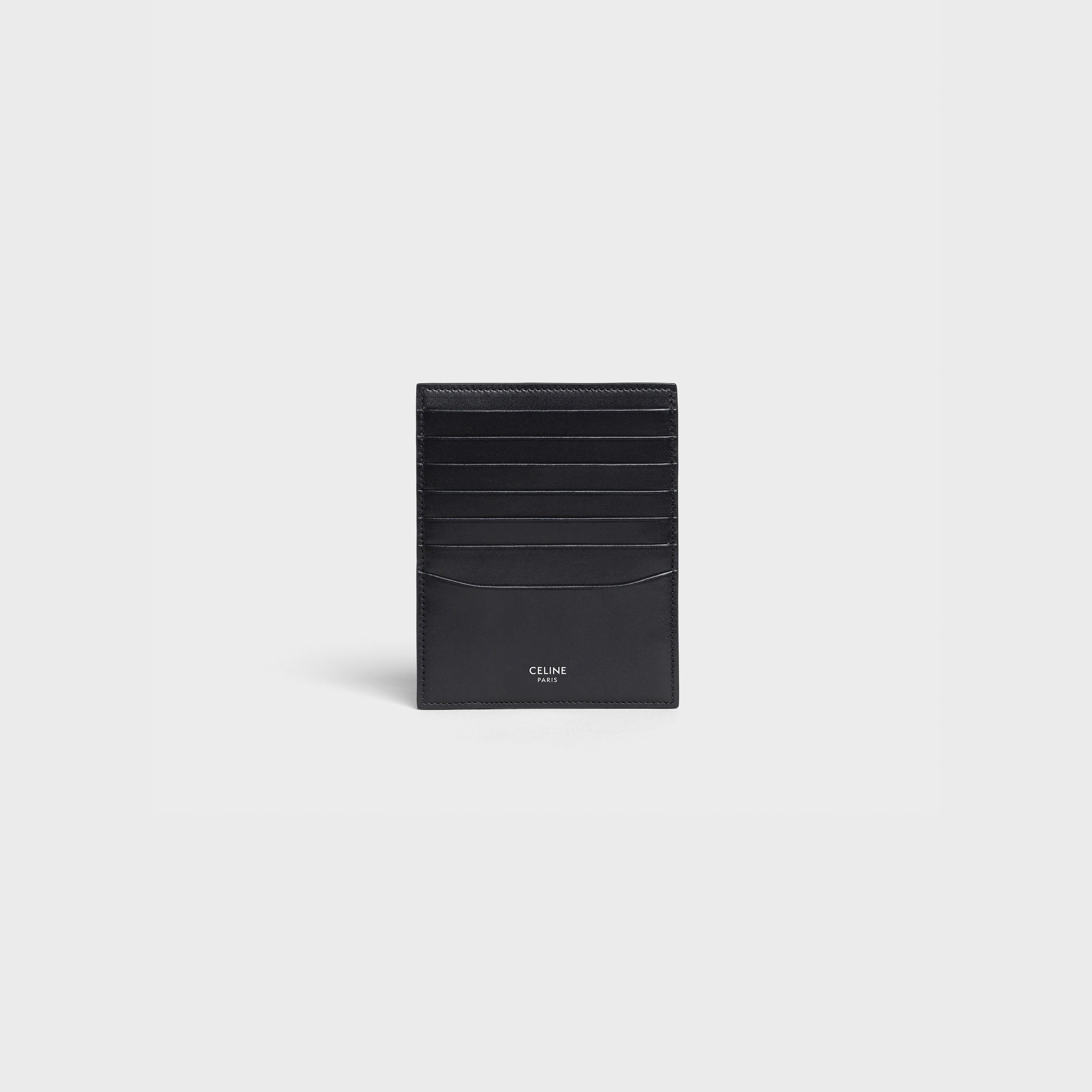 Vertical Card Holder in smooth calfskin | CELINE
