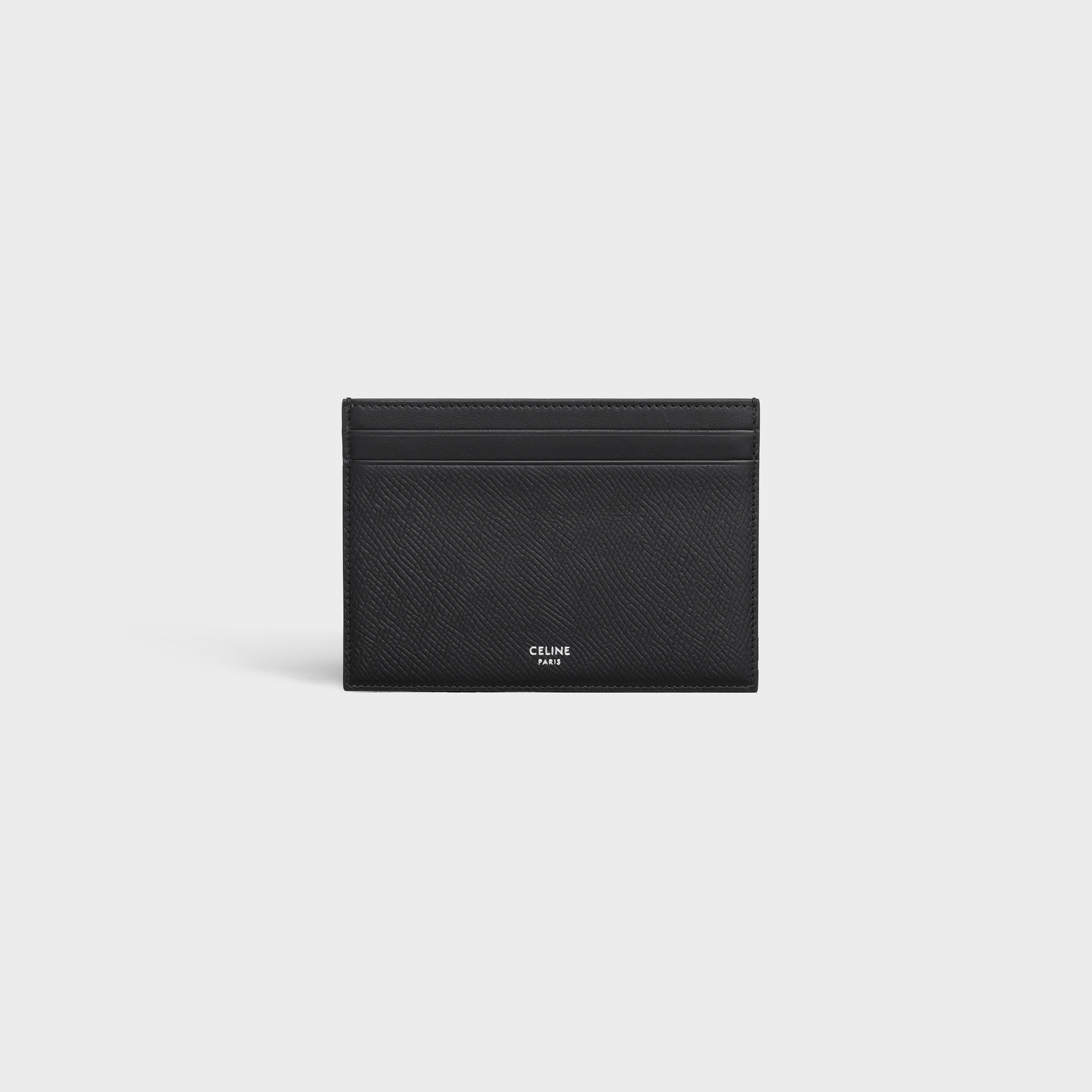 Multifunction card holder in Grained calfskin | CELINE