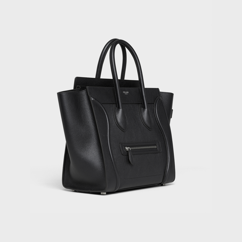 6e5cbd20da ... Mini Luggage handbag in drummed calfskin
