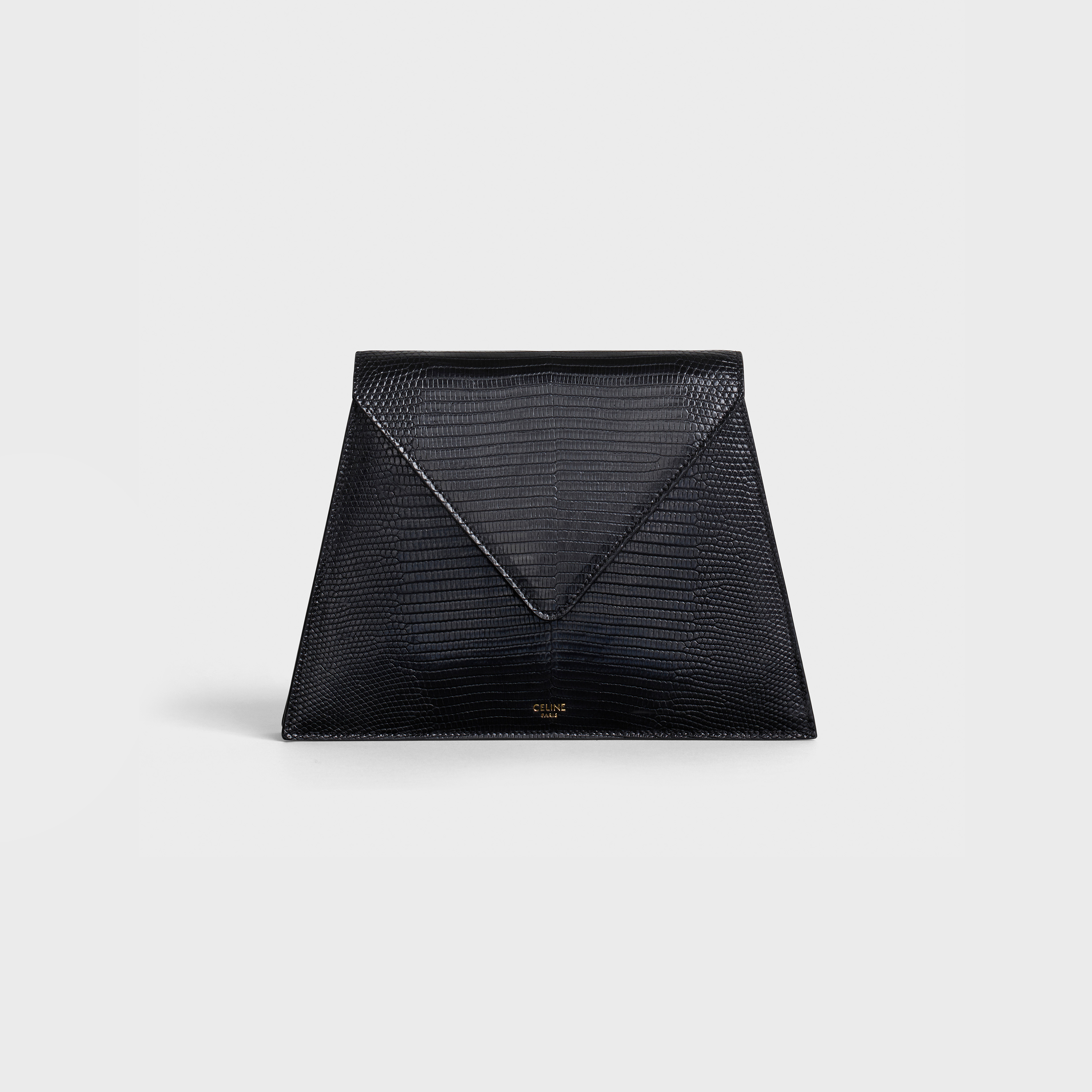 Pochette Triangle in lizard | CELINE