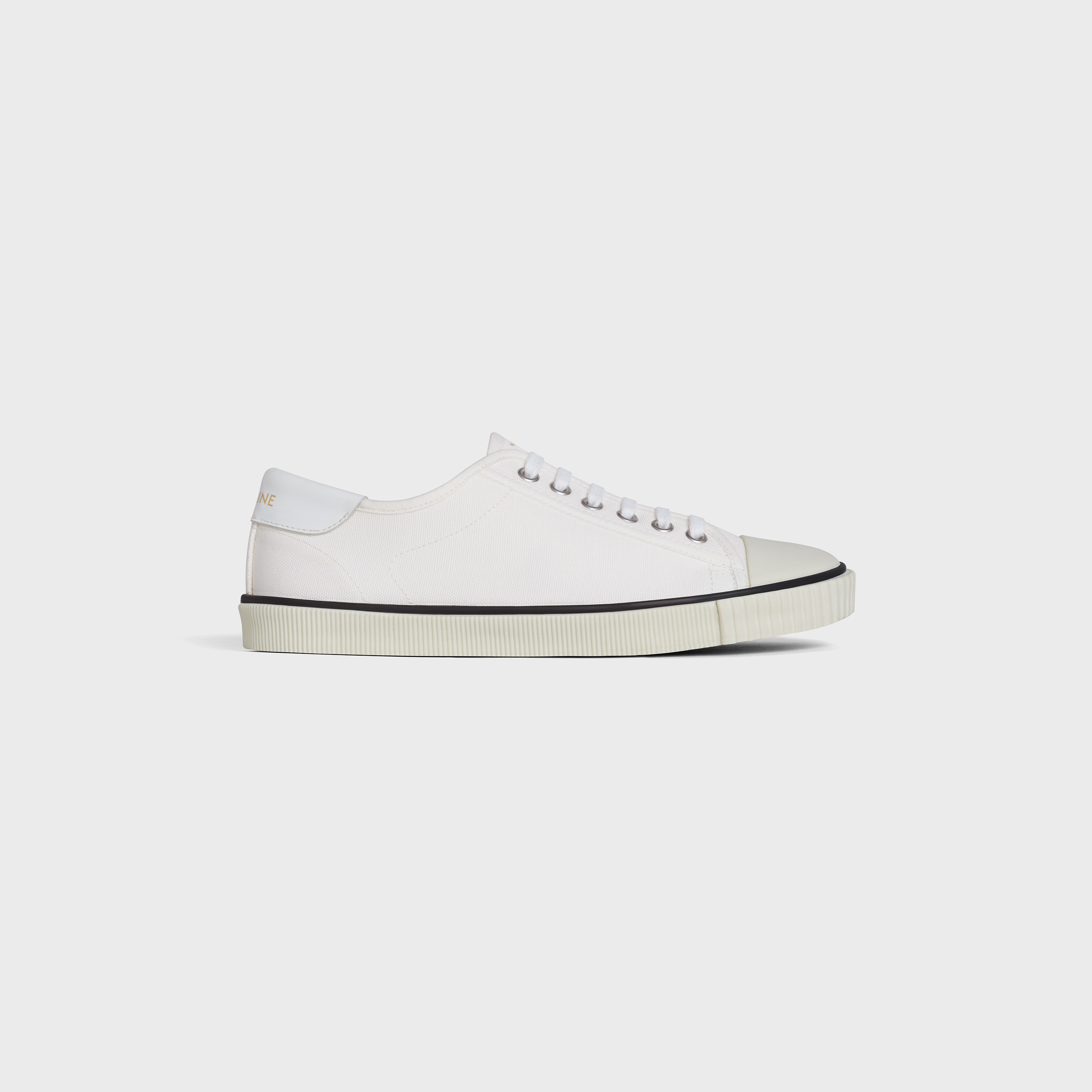 Celine Blank Low Lace Up Sneaker with