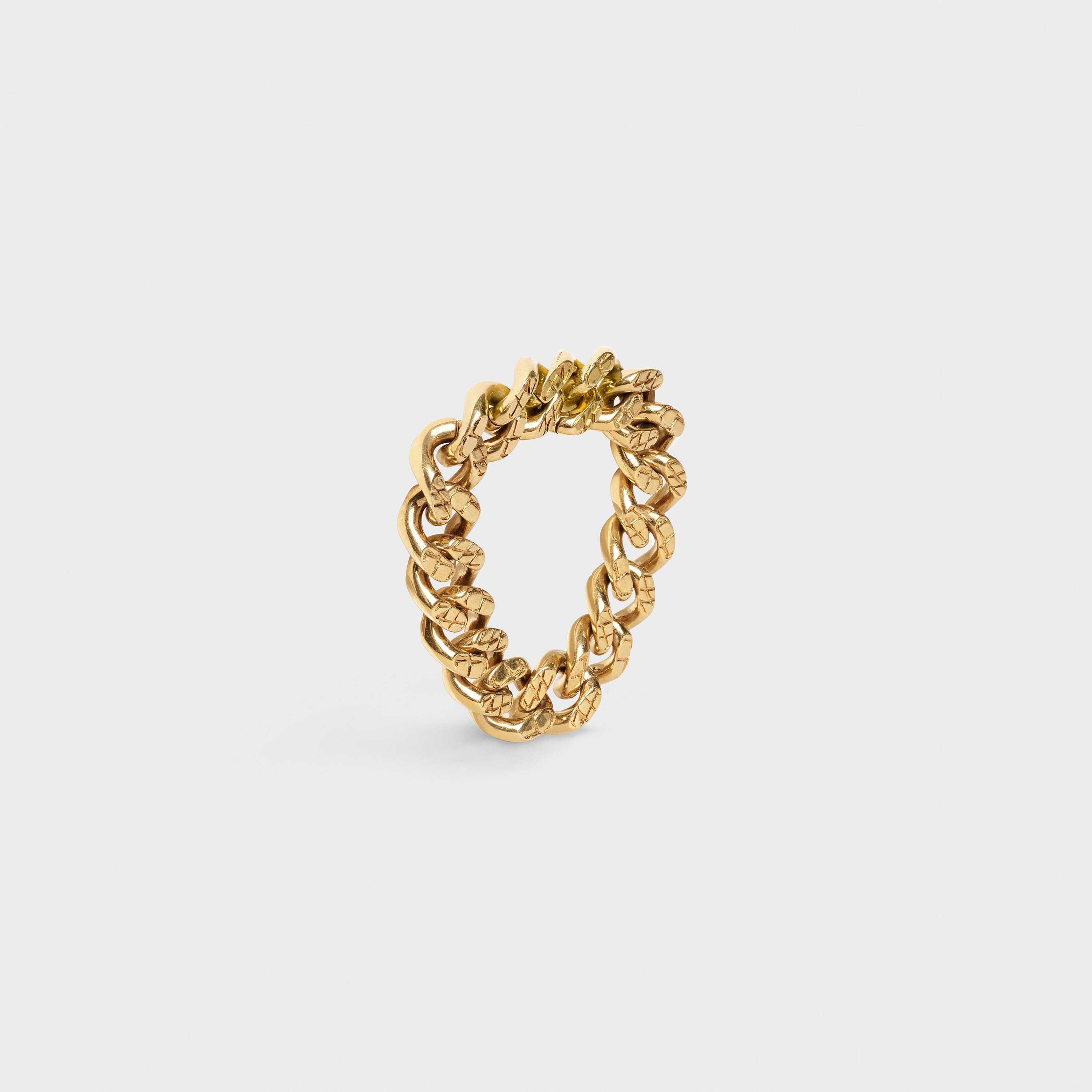 Celine Animals bracelet in brass with vintage gold finish | CELINE
