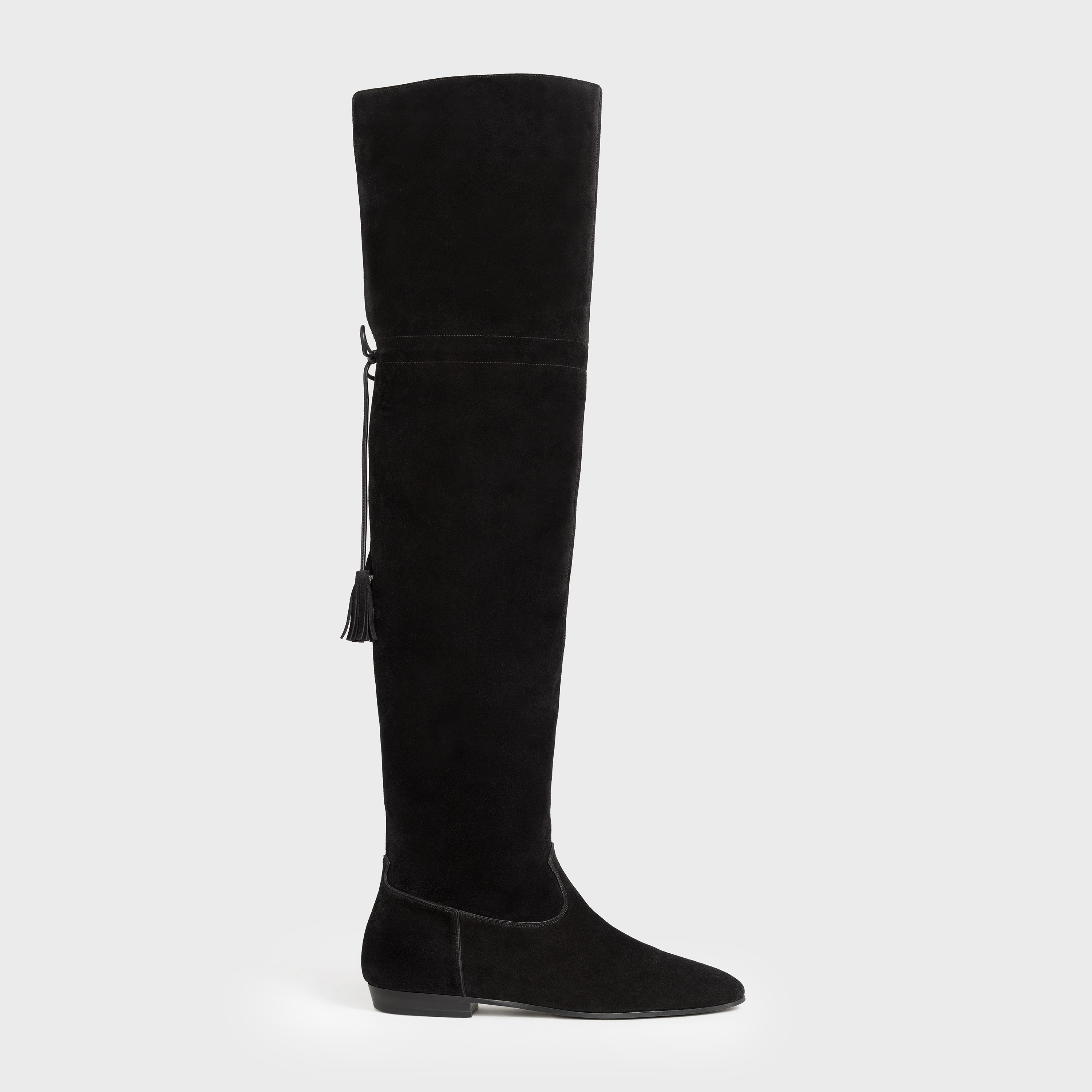 Chat Botté Over-The-Knee Flat Boot in