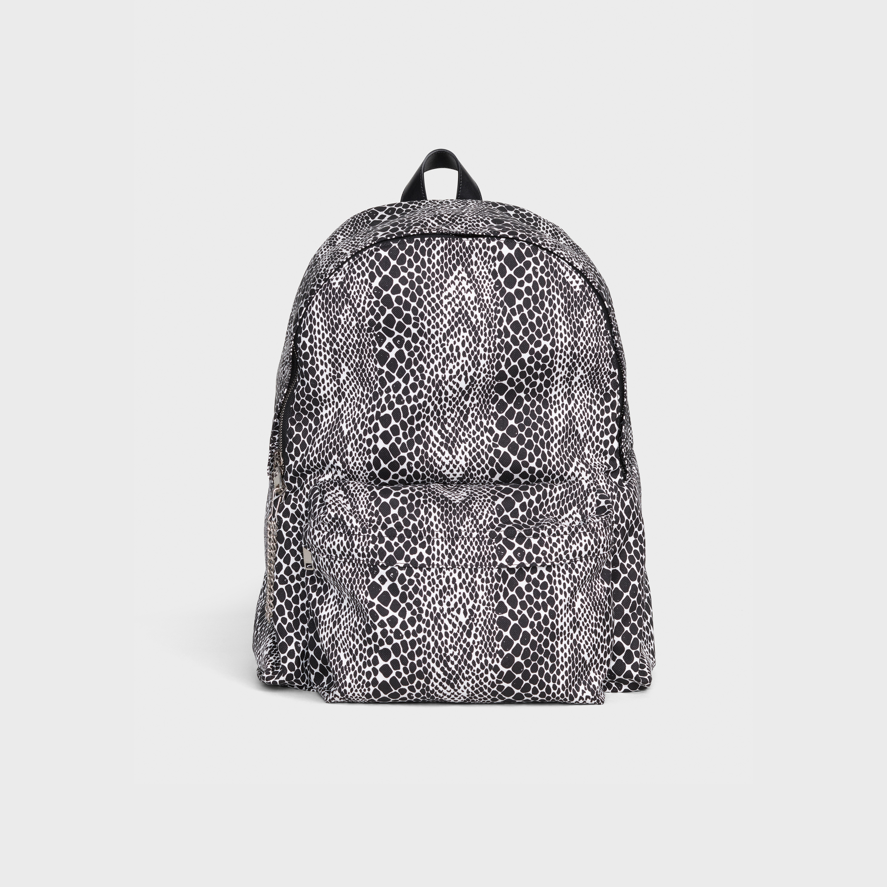 Medium Backpack in nylon with python printed | CELINE