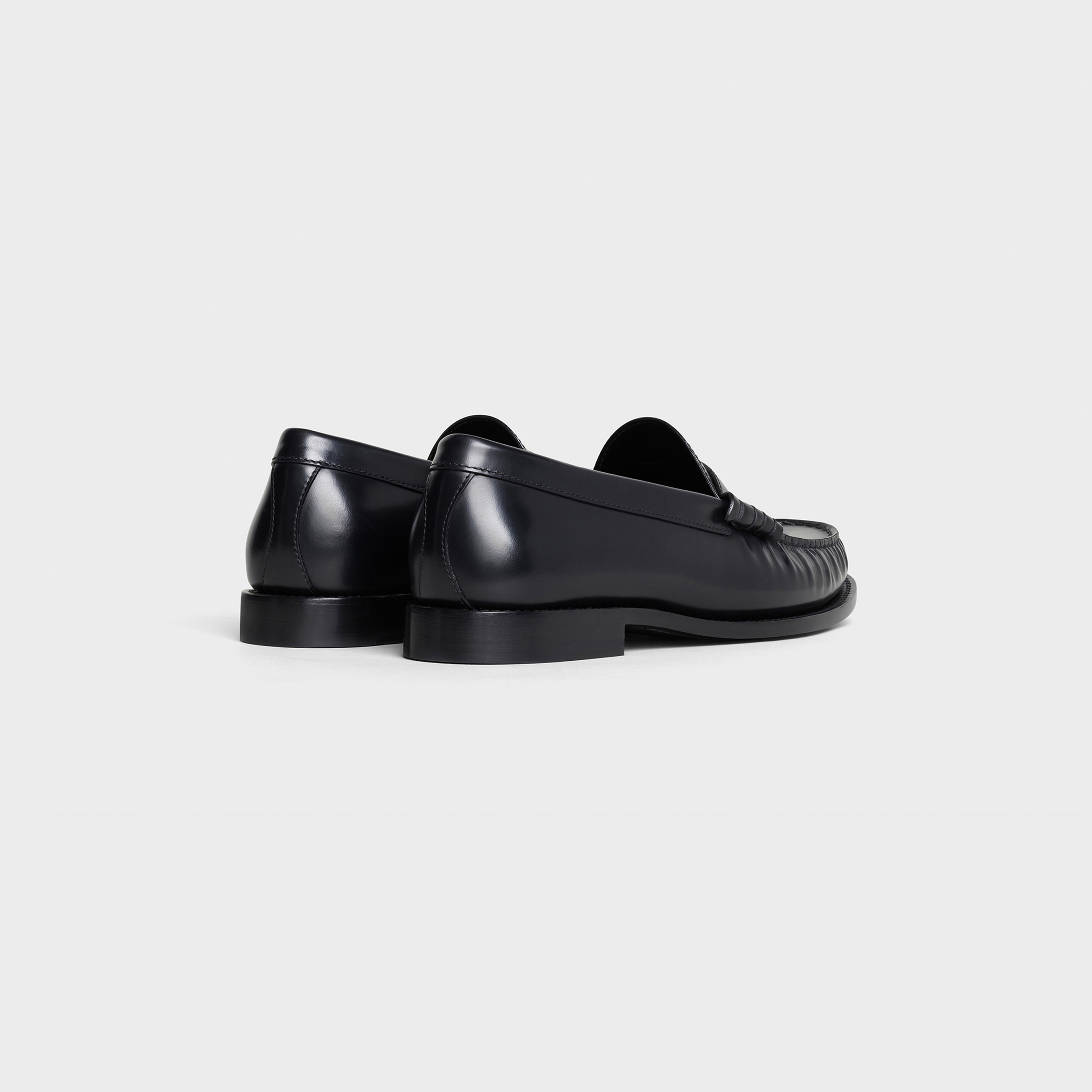 CELINE LUCO Loafer in Polished Calfskin | CELINE
